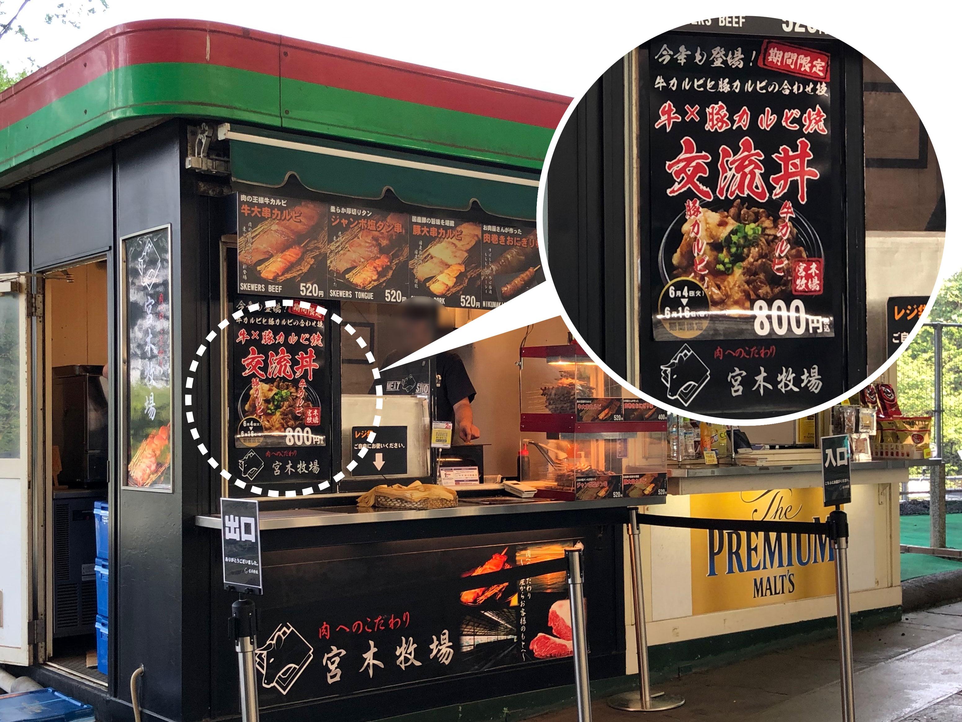 肉専門店「宮木牧場」の外観写真