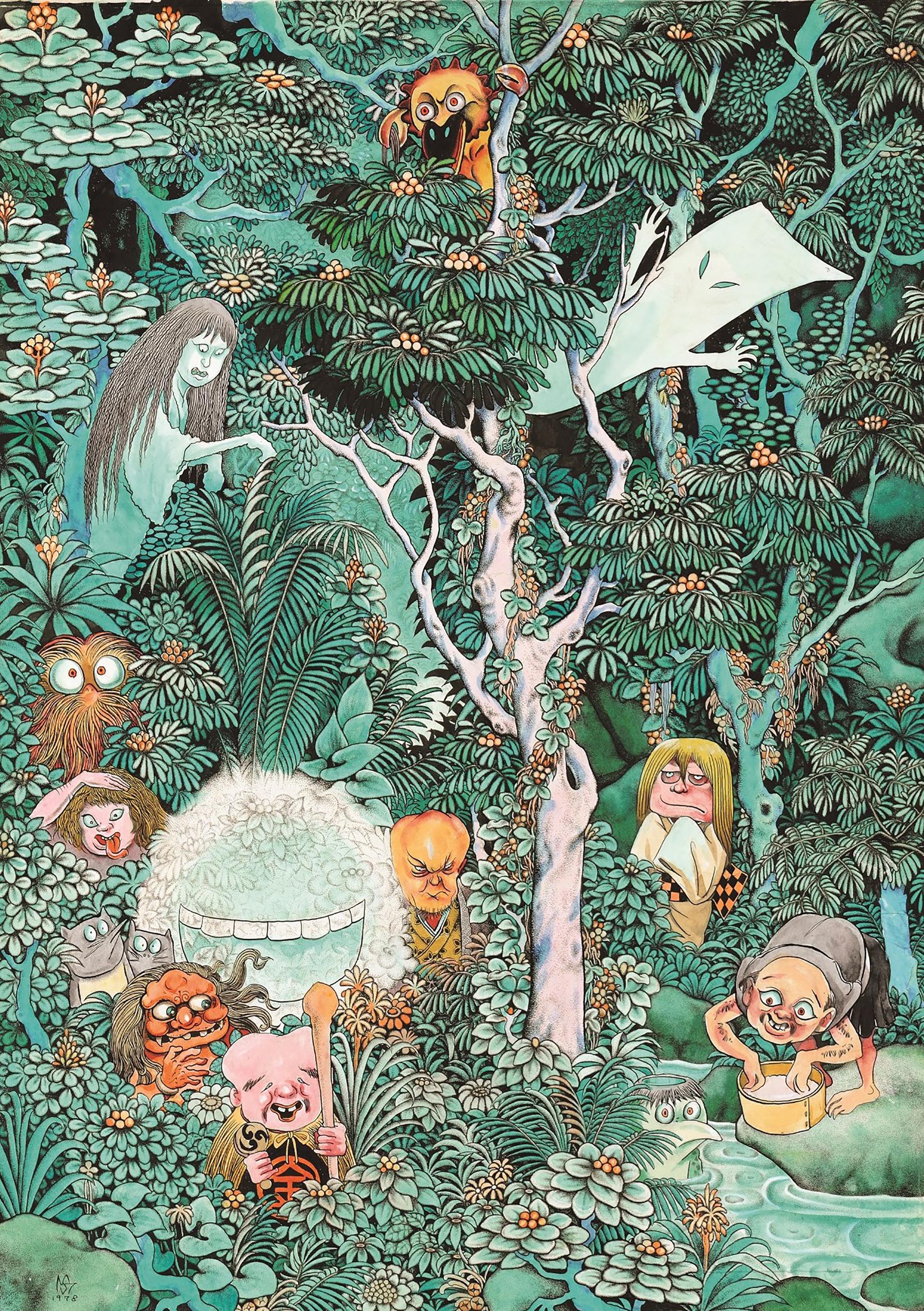 水木しげる 魂の漫画展