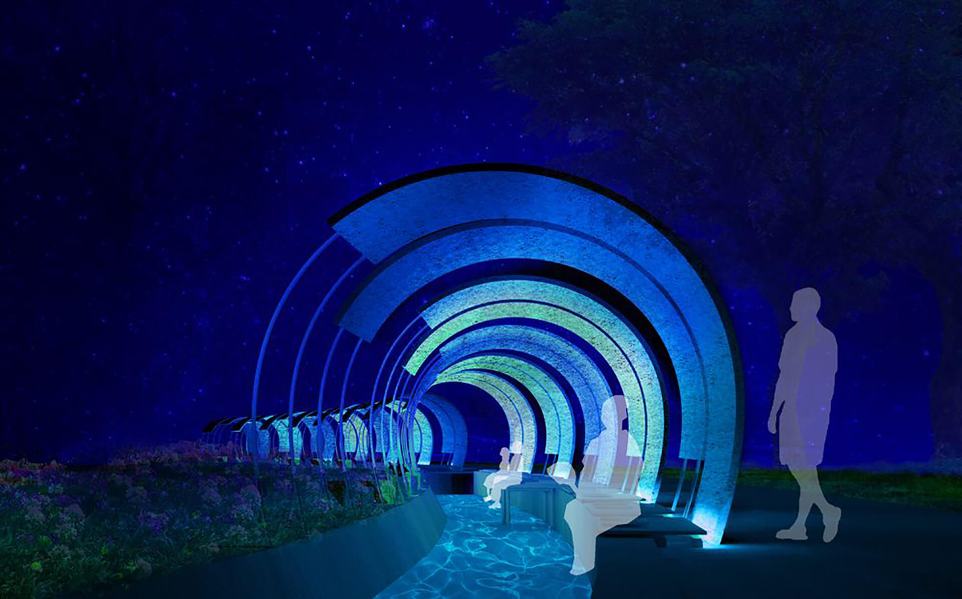 この写真はASHIMIZUの夜イメージです