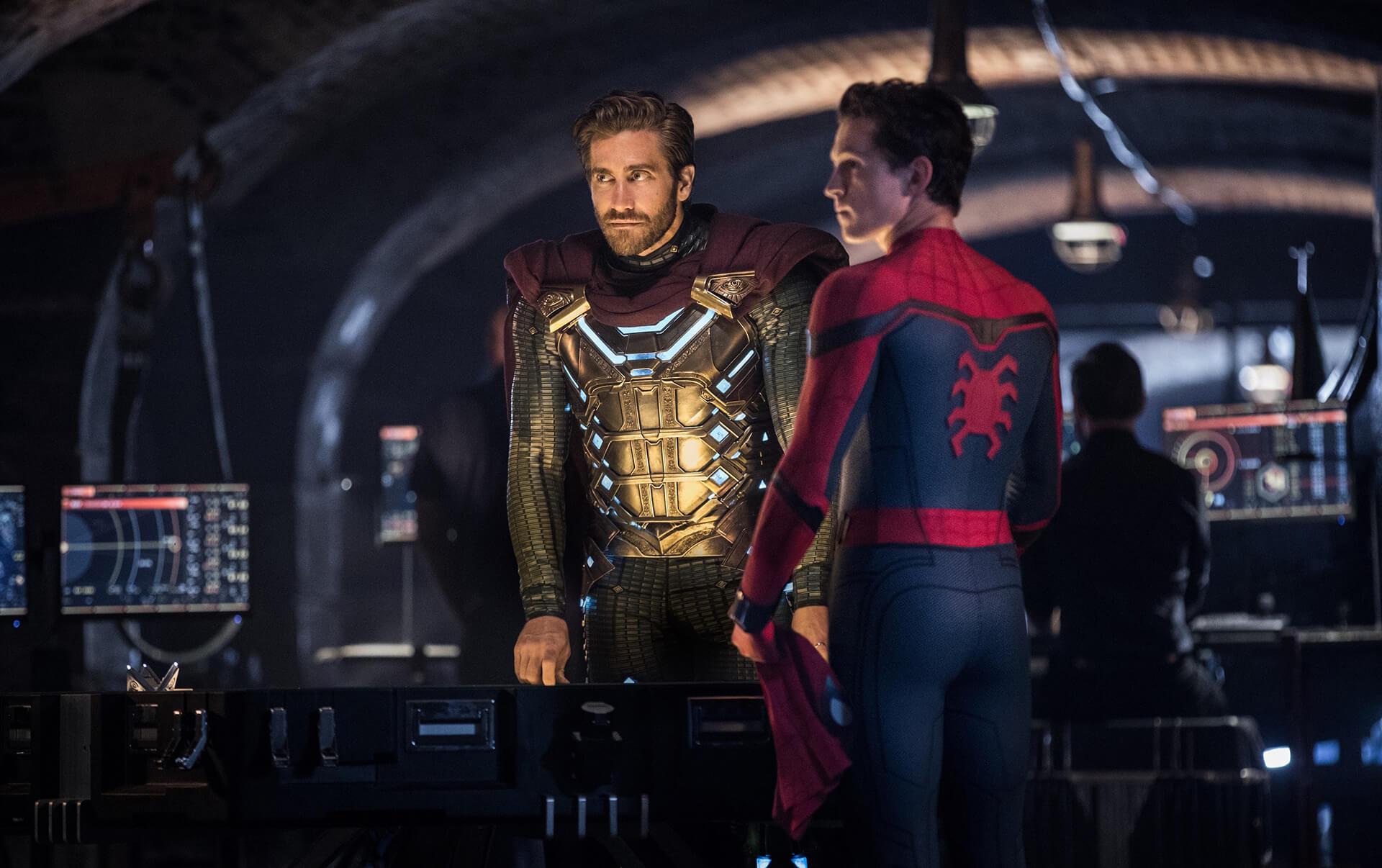 この写真はスパイダーマン エクスクルーシブ・ストア ジャパンツアーのイメージビジュアル。映画の1シーンです