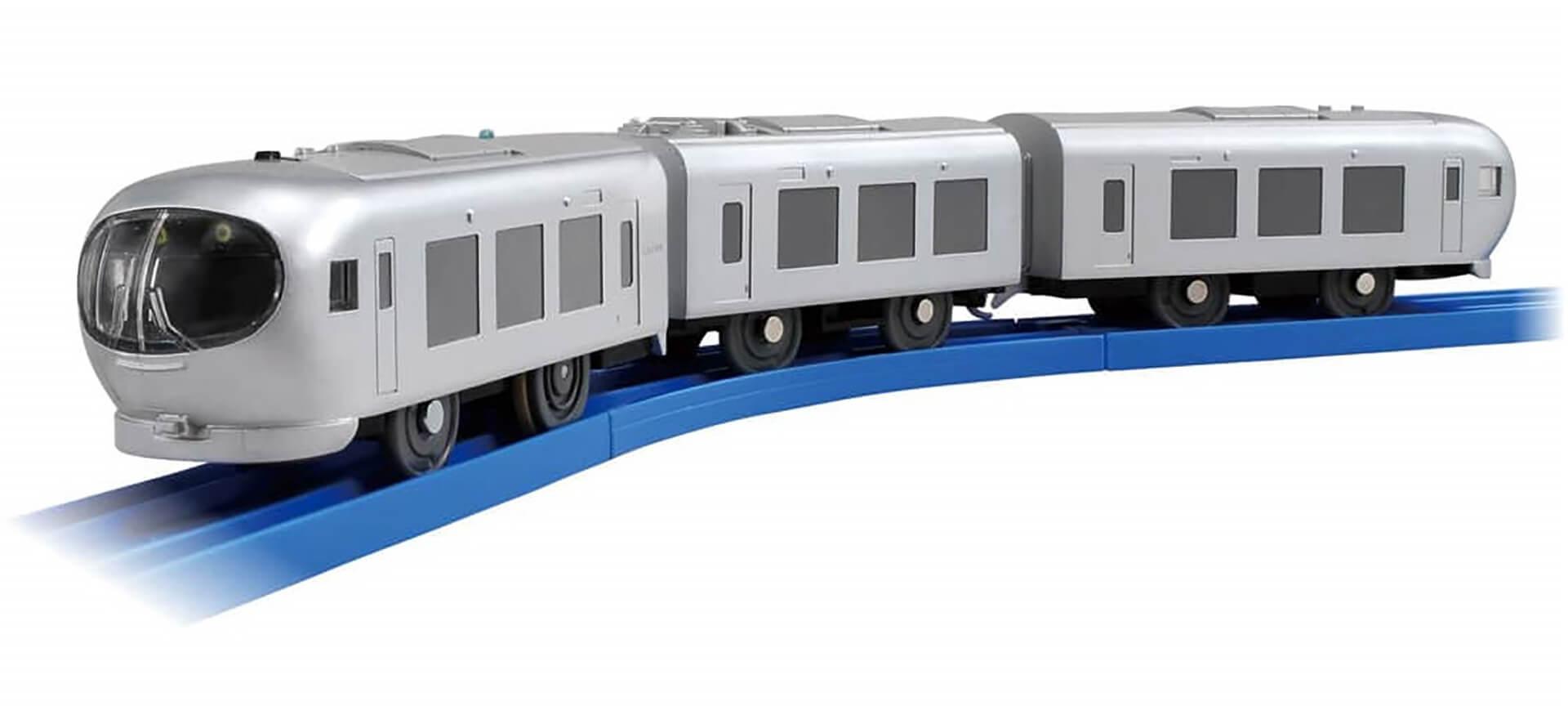 この写真は西武ちちプラレール駅のラリー達成の抽選でもらえる001系Laview(ラビュー)です