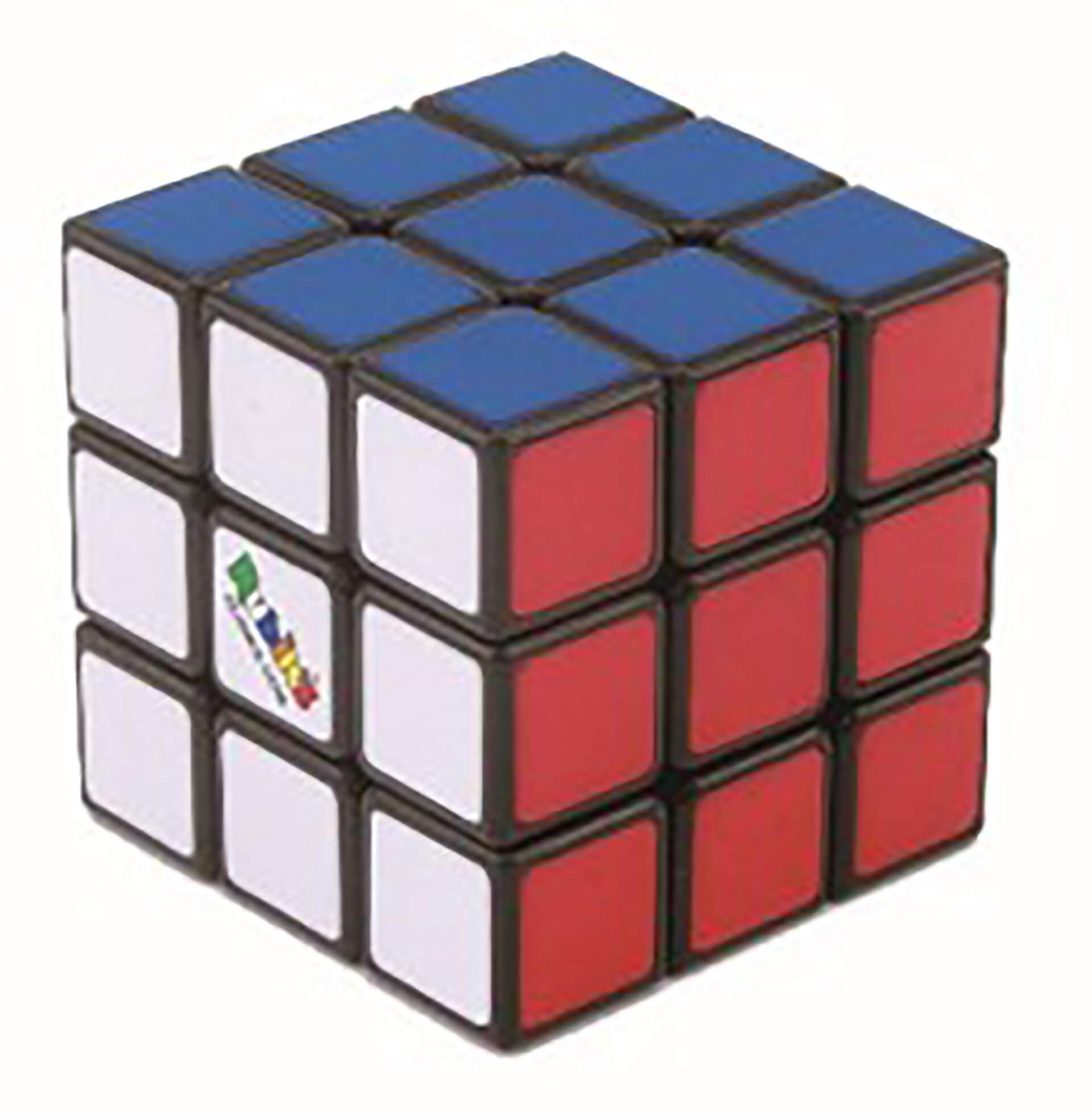 この写真は、キャラクションキューブ ポップアップストアを主催するメーカーのルービックキューブ単体