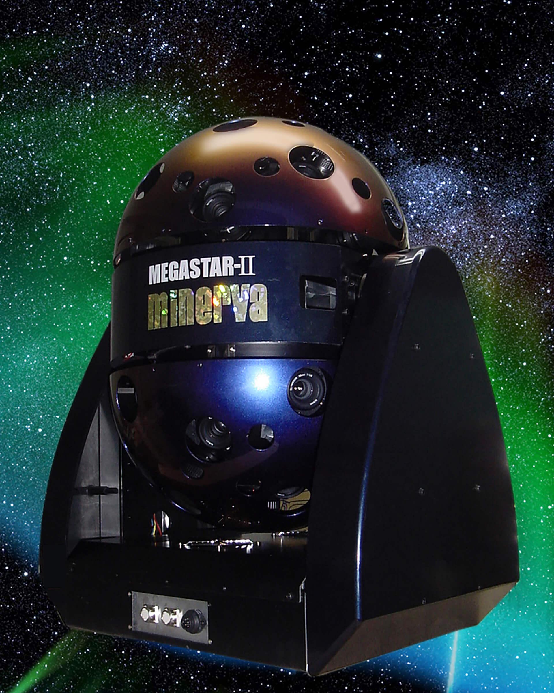 この写真はNordic Sky プラネタリウムスペースのマシンの写真