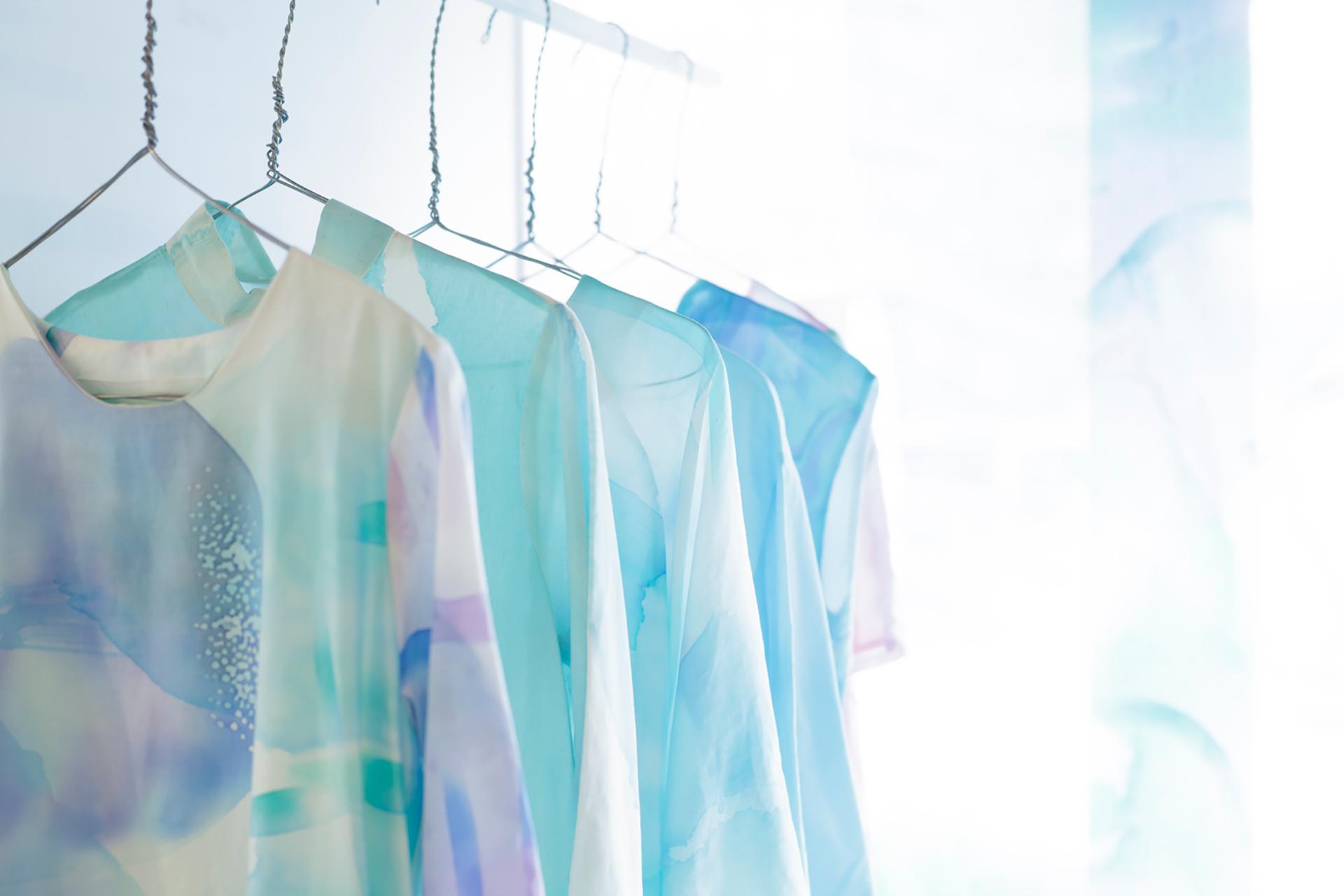 この写真は布博のイメージ。洋服です