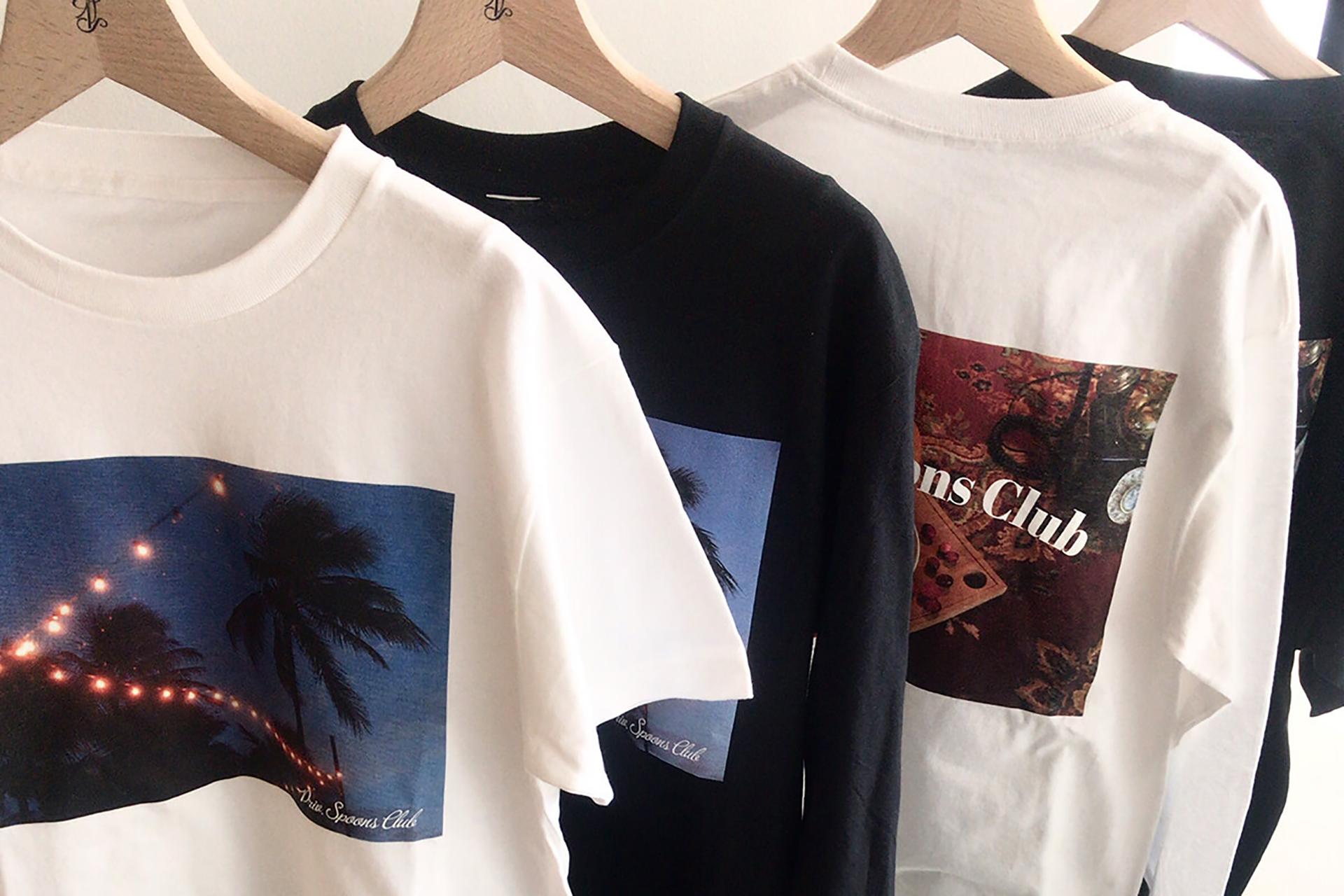 プライベート・ビーチ・クラブで販売されるPSC Photo Tシャツ