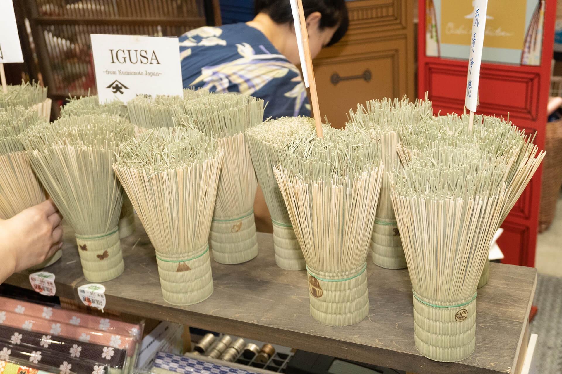この写真はハンドメイドインジャパンにあった畳の消臭剤