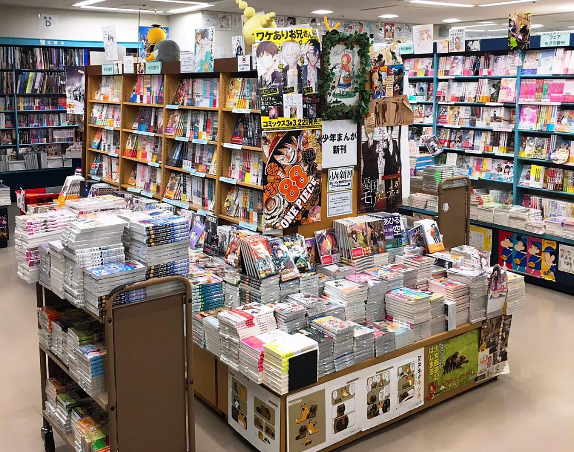 ジュンク堂書店の店内写真
