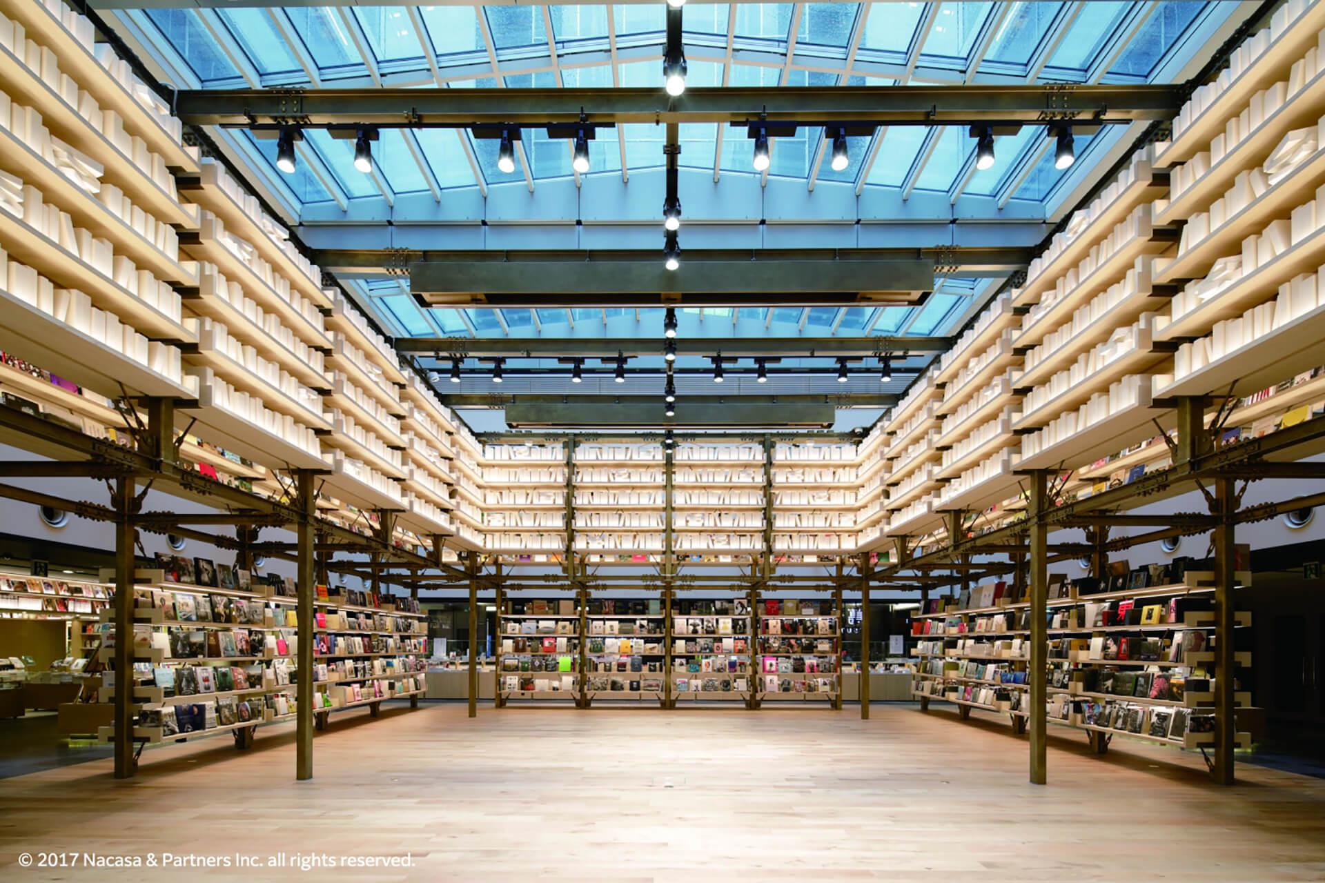 モリサワ × 銀座 蔦屋書店 Type Design Discoveryの会場となる銀座蔦谷のギャラリー内部