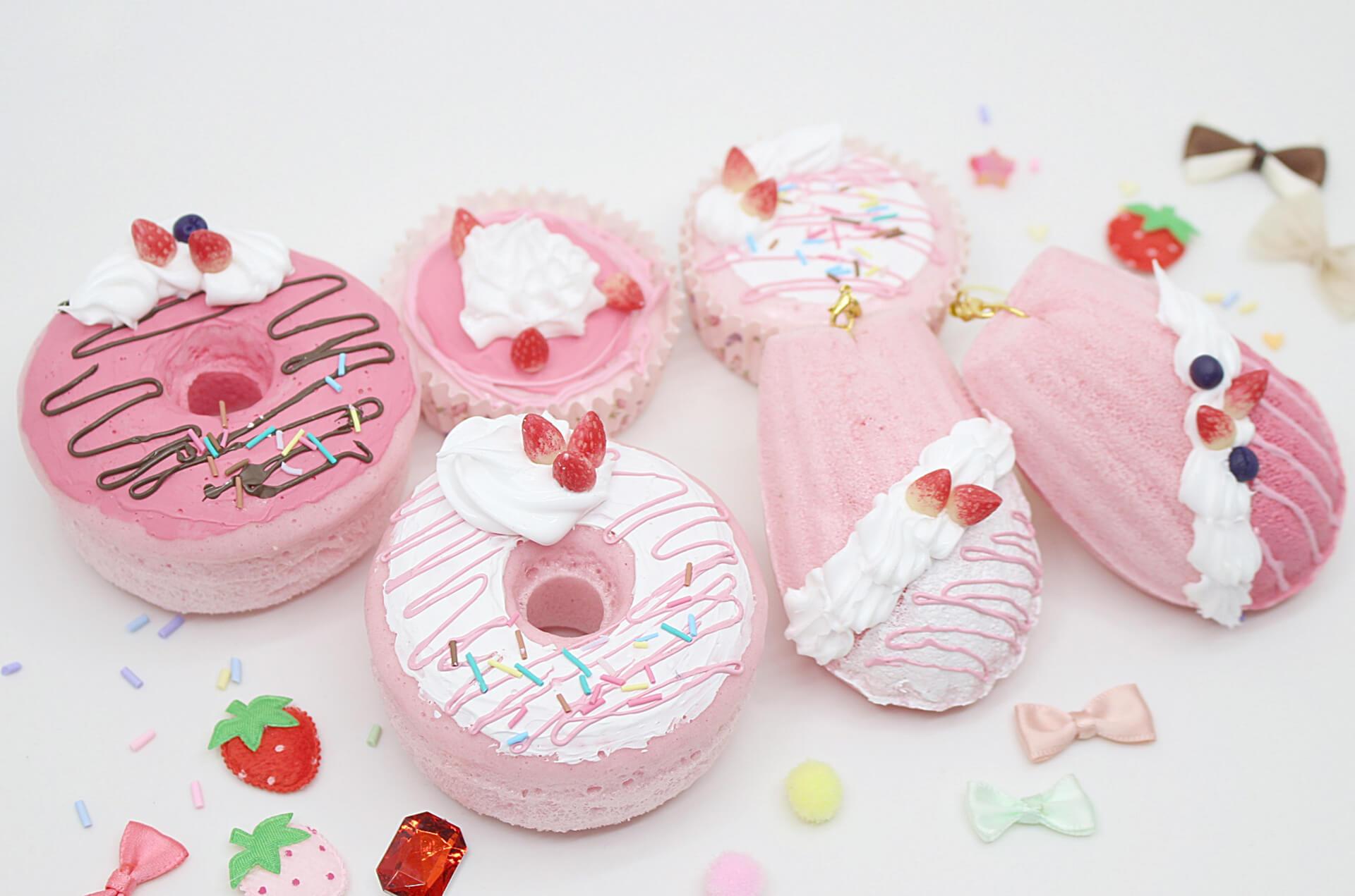 東京ストロベリーパーク『いちごまつり』で開催されるスクイーズ
