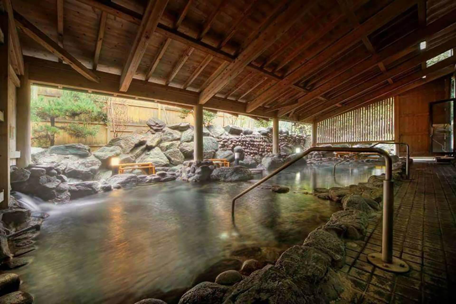 玉川温泉の内部の様子