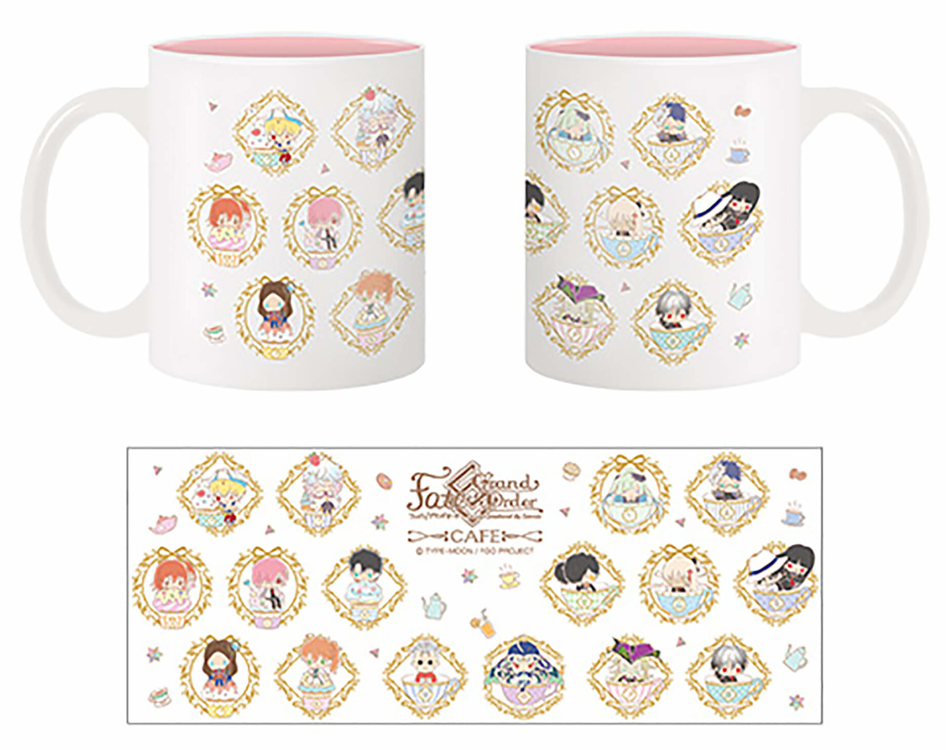 Fate/Grand Order Design produced by Sanrio カフェのマグカップ