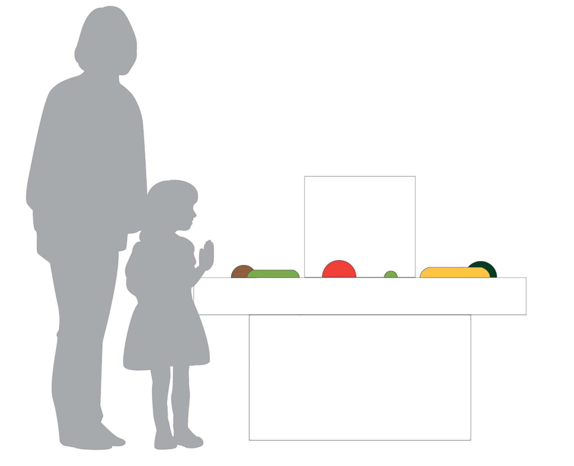 「野菜とデザイン」展で展示予定の木彫り野菜展示