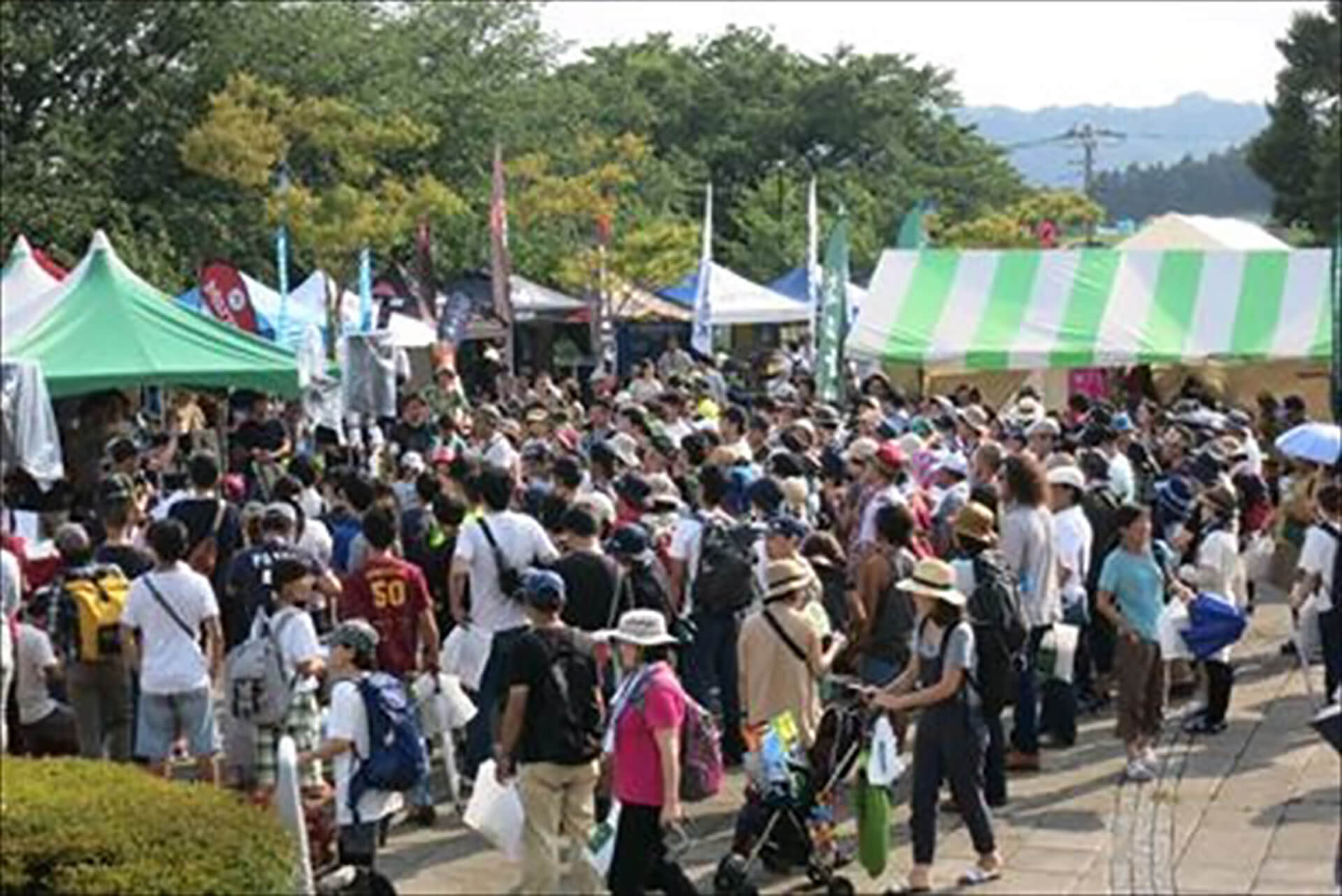 TANZAWA山モリ!フェス2019の前回のイベント風景