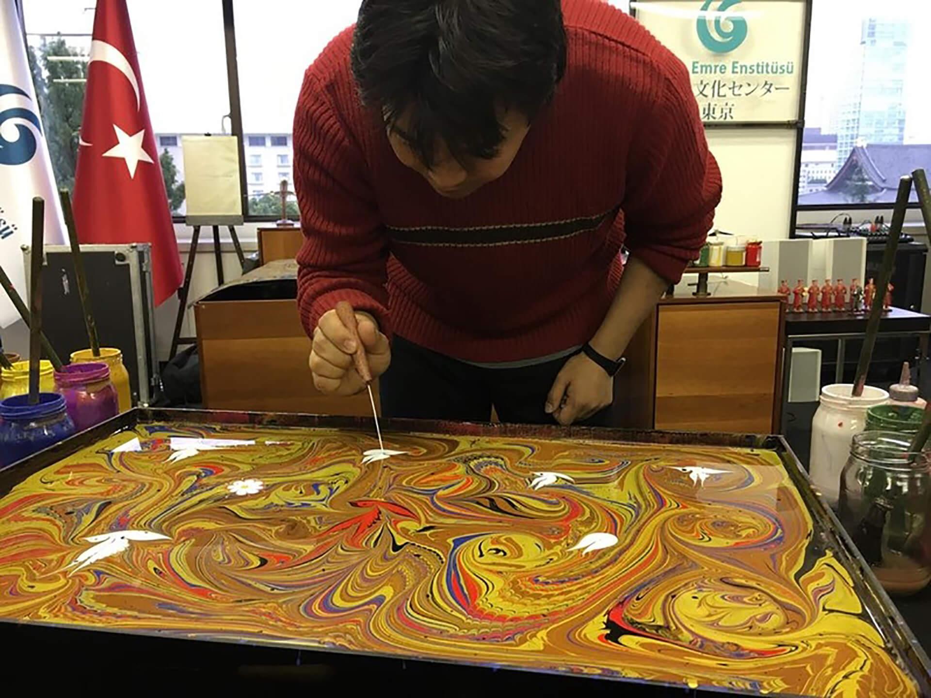 トルコ芸術のワークショップ