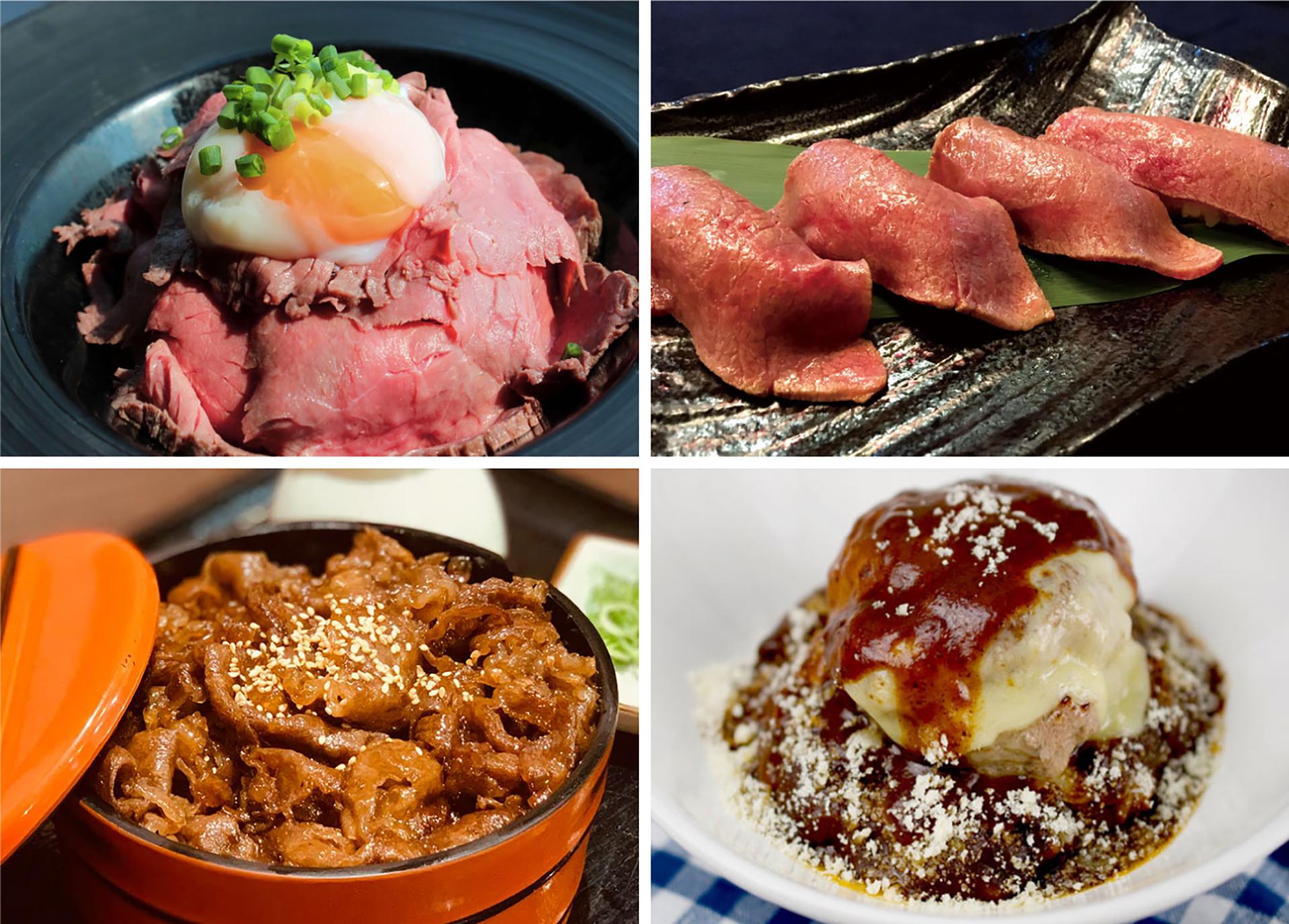 多様なスタイルの肉飯
