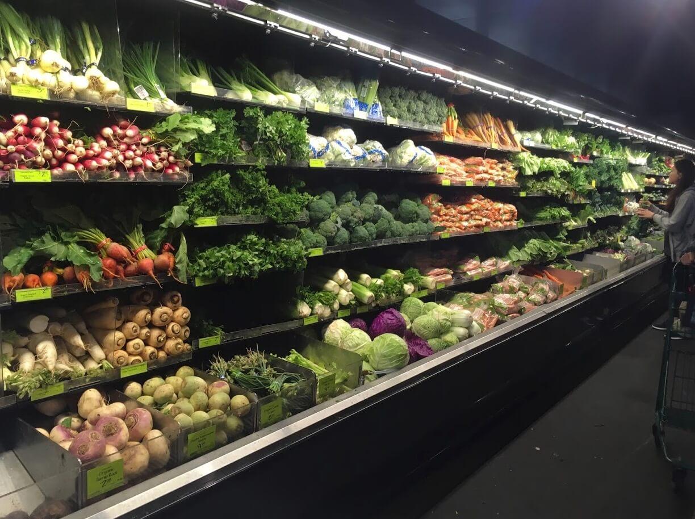 野菜の売り場