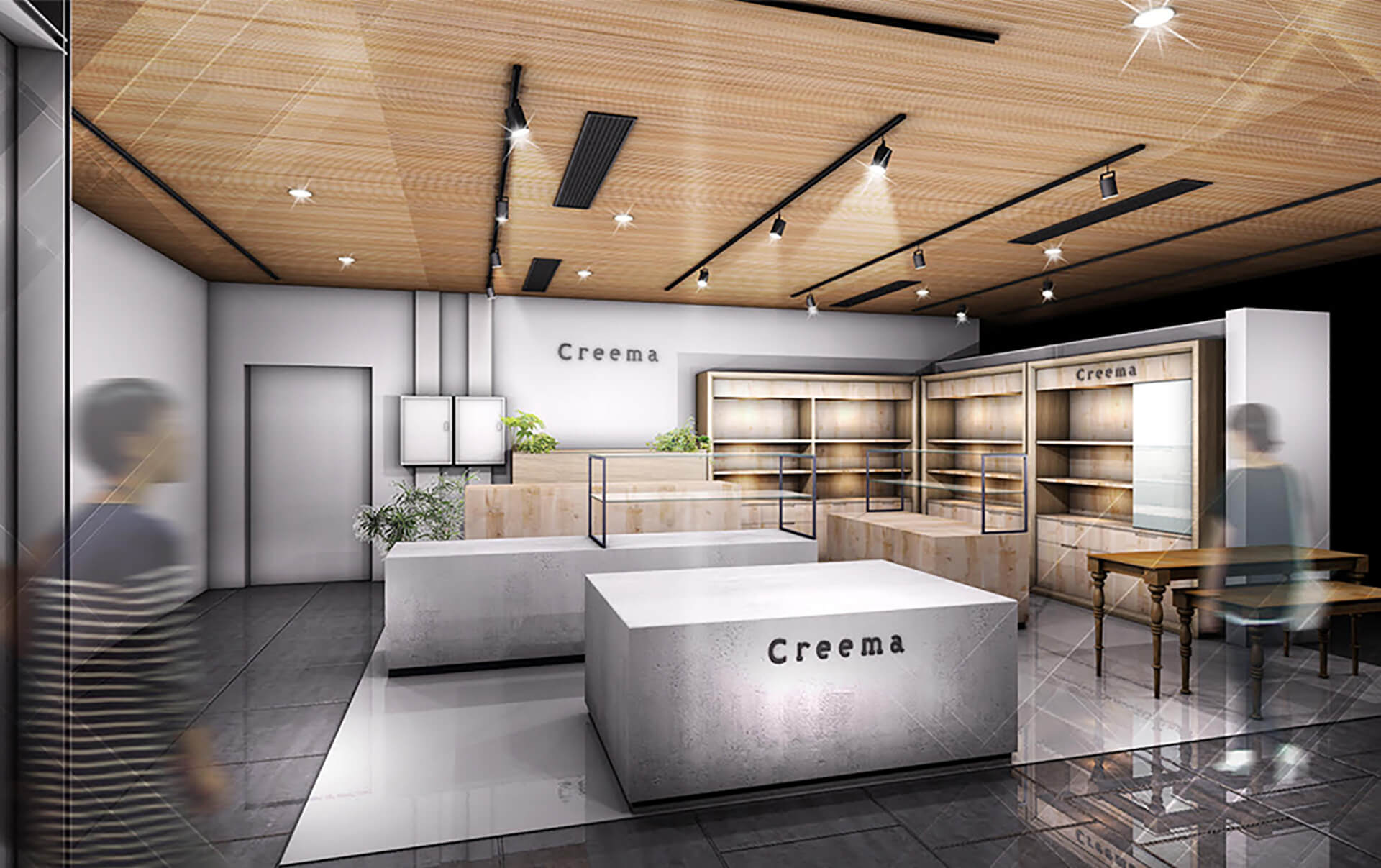 Creema &Essence店内風景