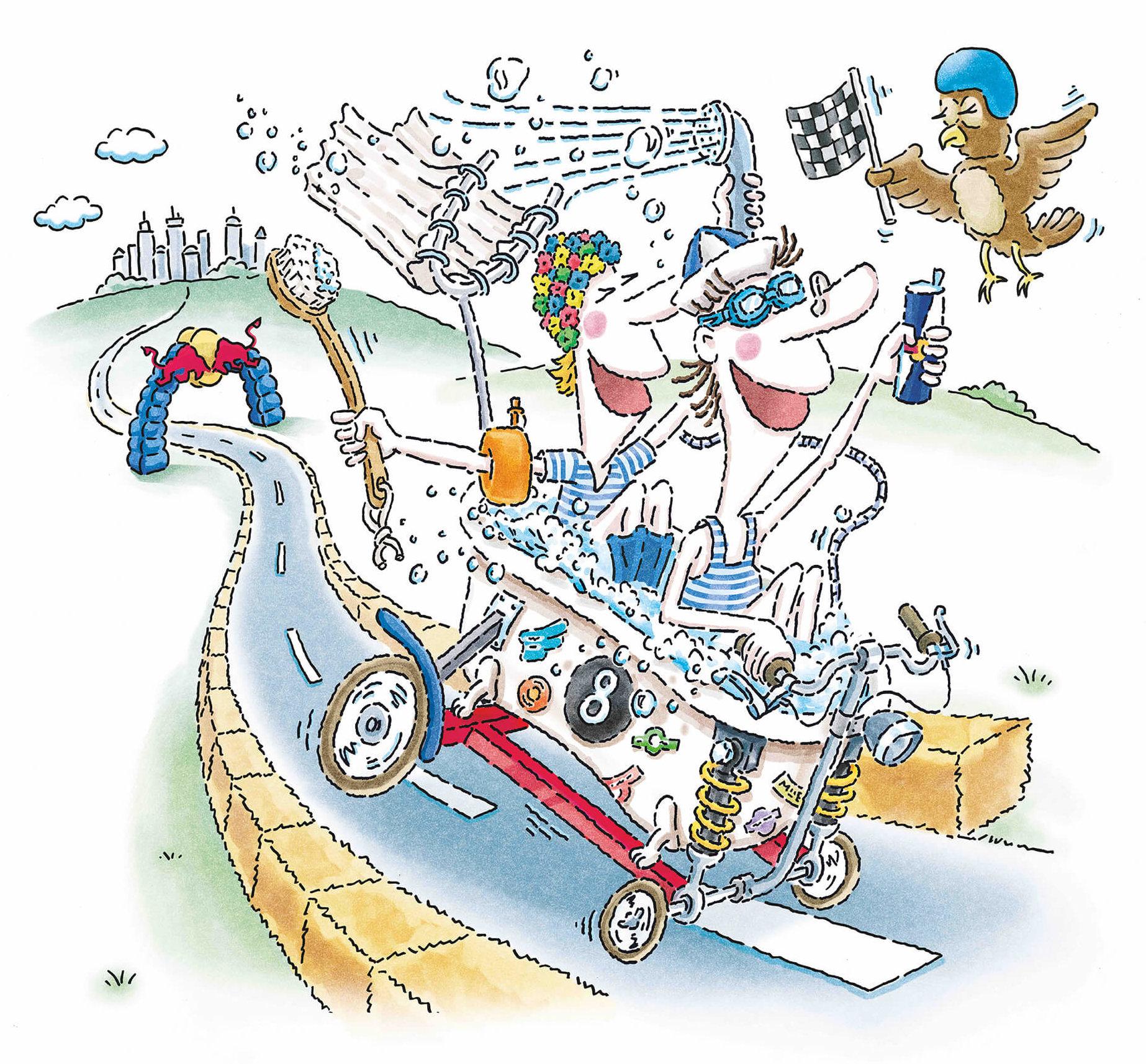 レッドブル・ボックスカート・レースメインビジュアル