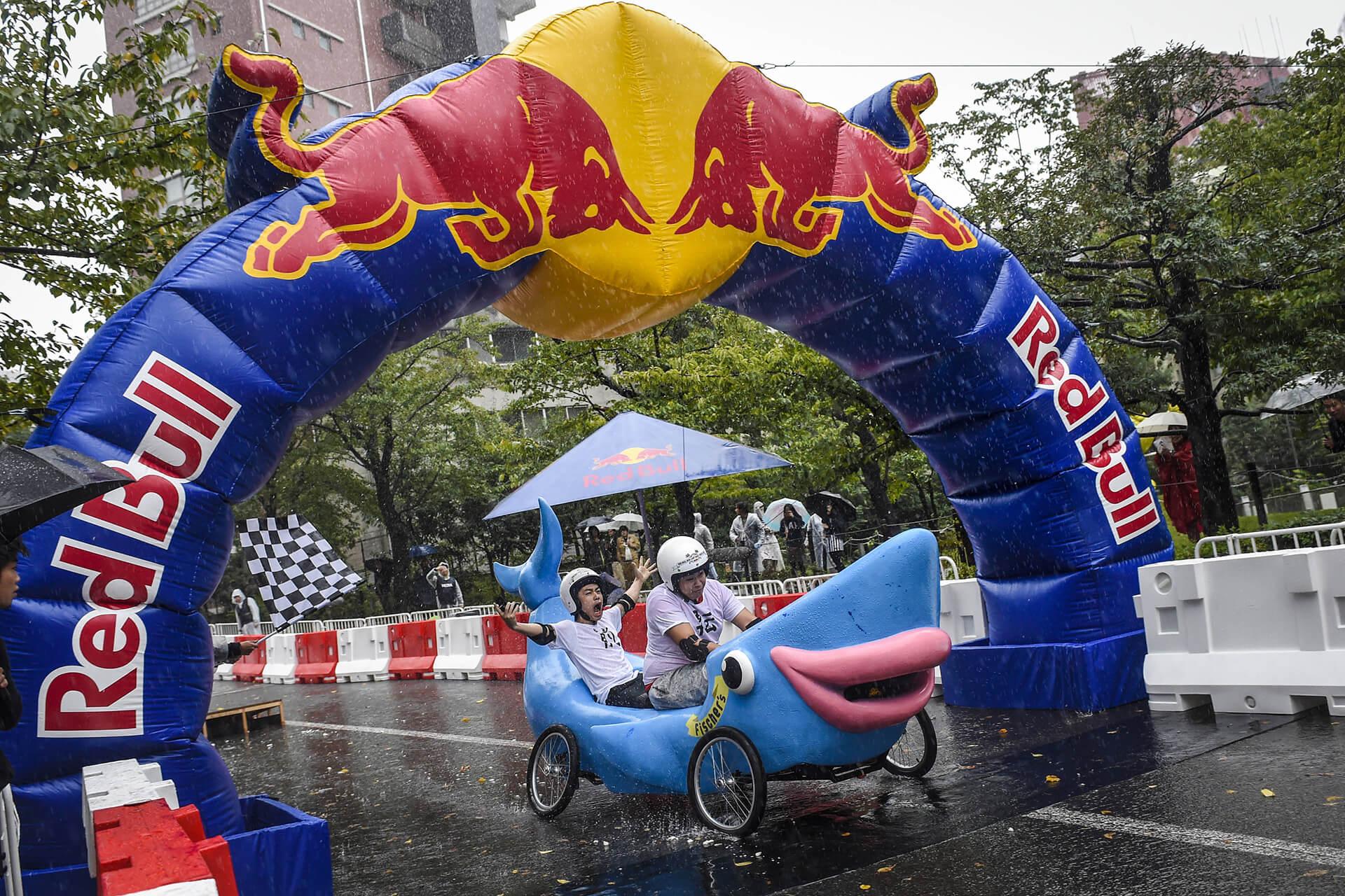 レッドブル・ボックスカート・レース参加者