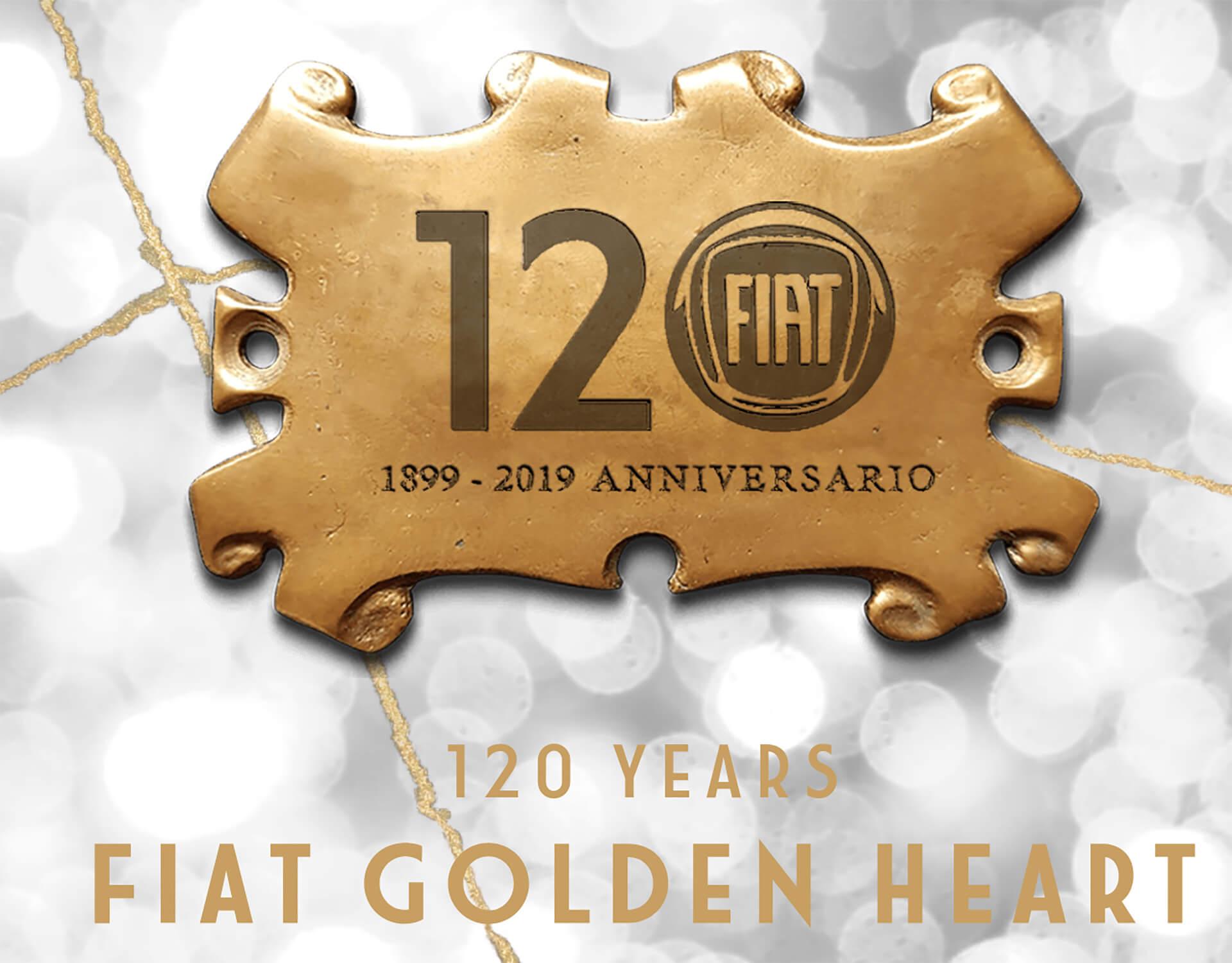 FIAT GOLDEN HEARTメインビジュアル