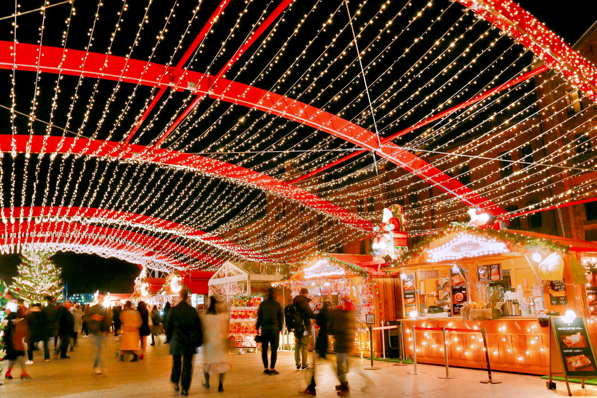 Christmas Market in 横浜赤レンガ倉庫会場風景
