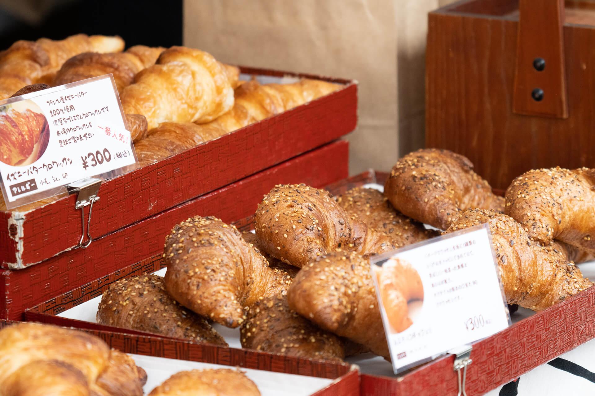 パンのフェススナップ・パン