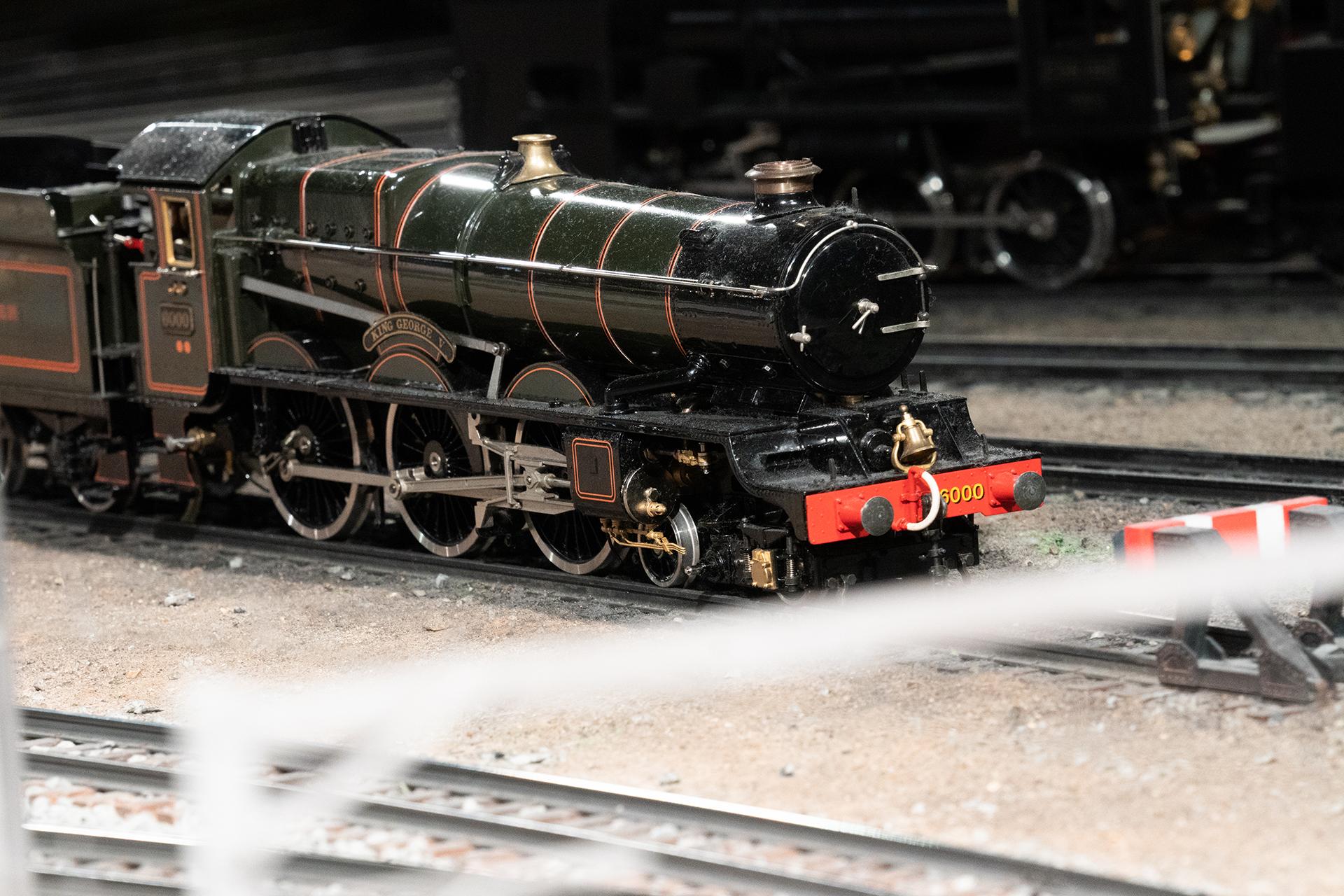 ジオラマ機関車