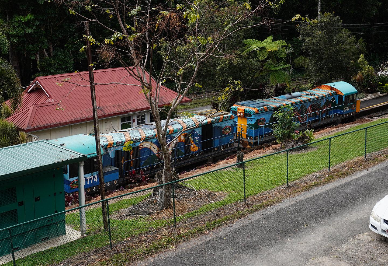 キュランダ列車