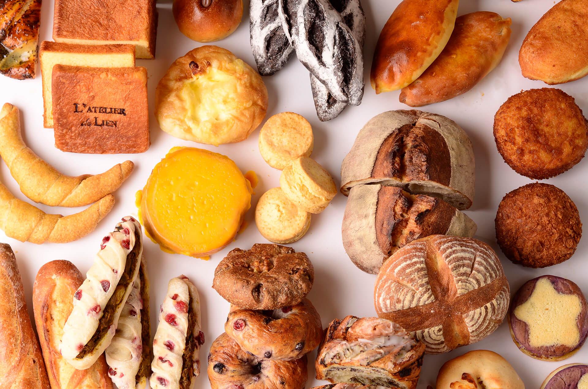 世田谷パン祭り2019パン集合写真