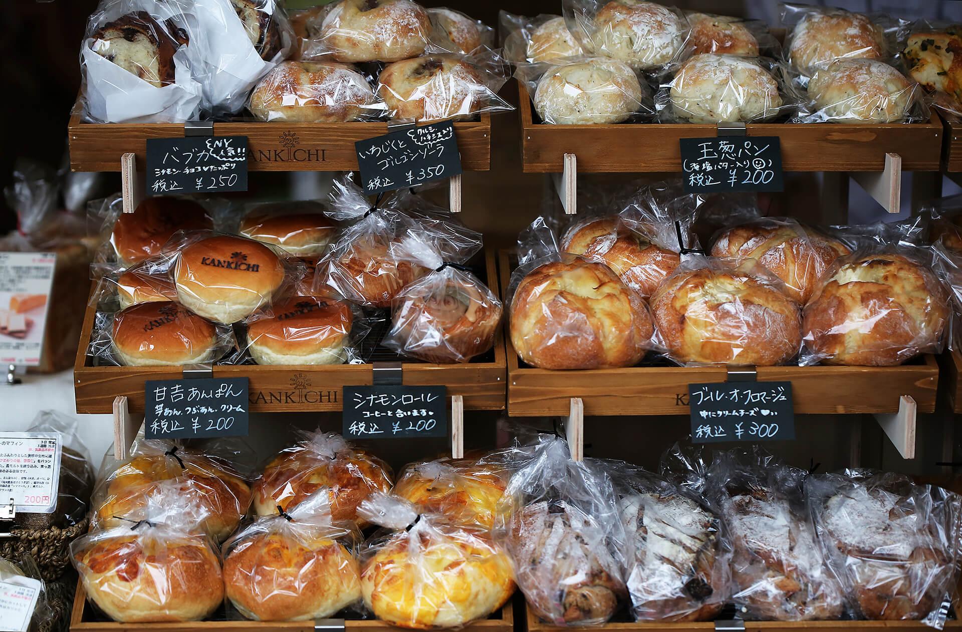 世田谷パン祭り2019パン陳列イメージ