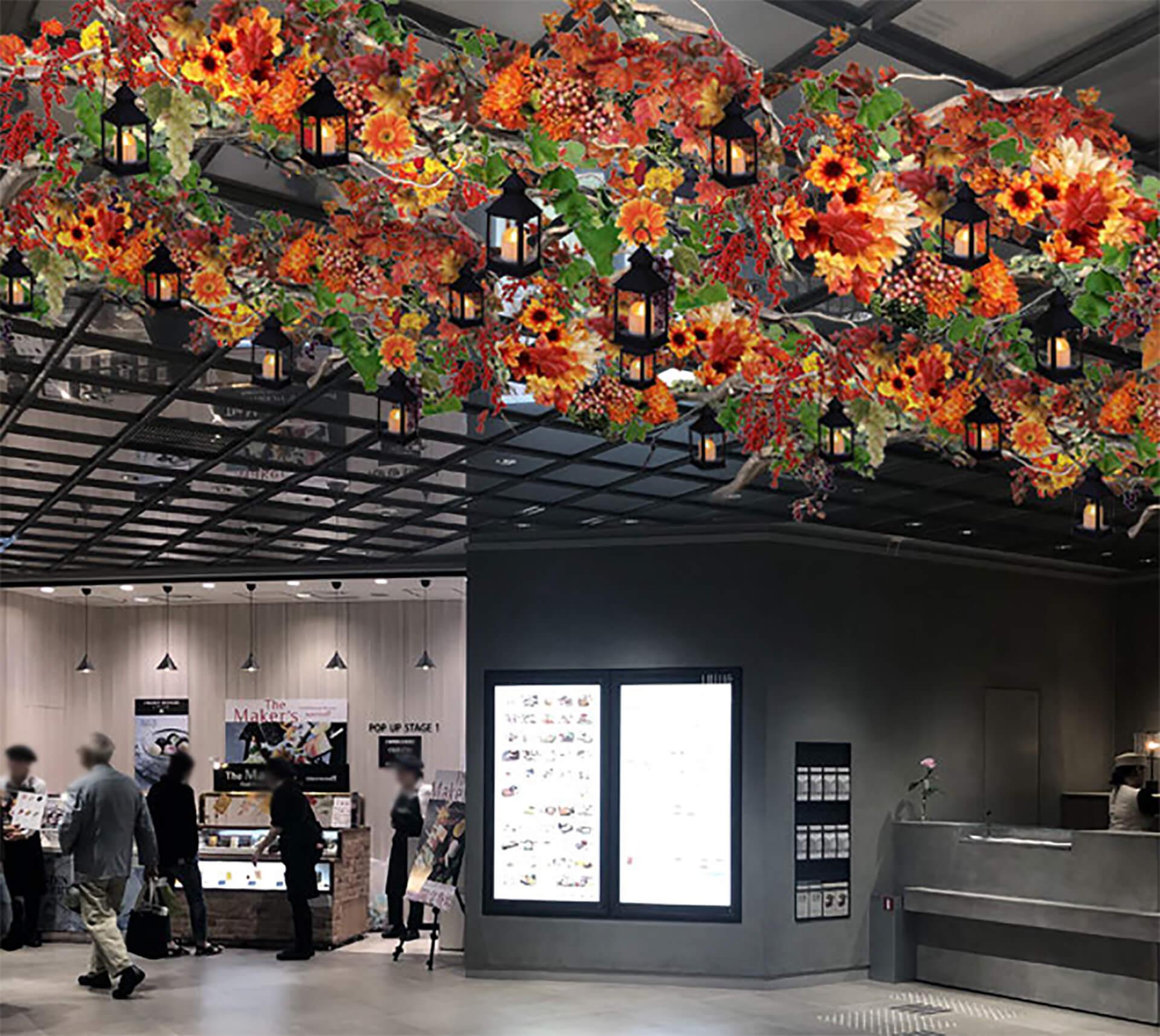 日本橋高島屋S.C.ハロウィーン装飾