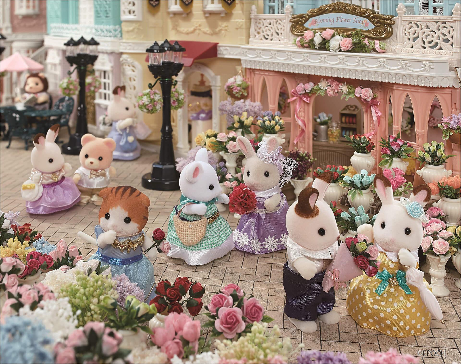 シルバニアファミリー わくわくフェスタ2019 in 横浜人形の家メインビジュアル