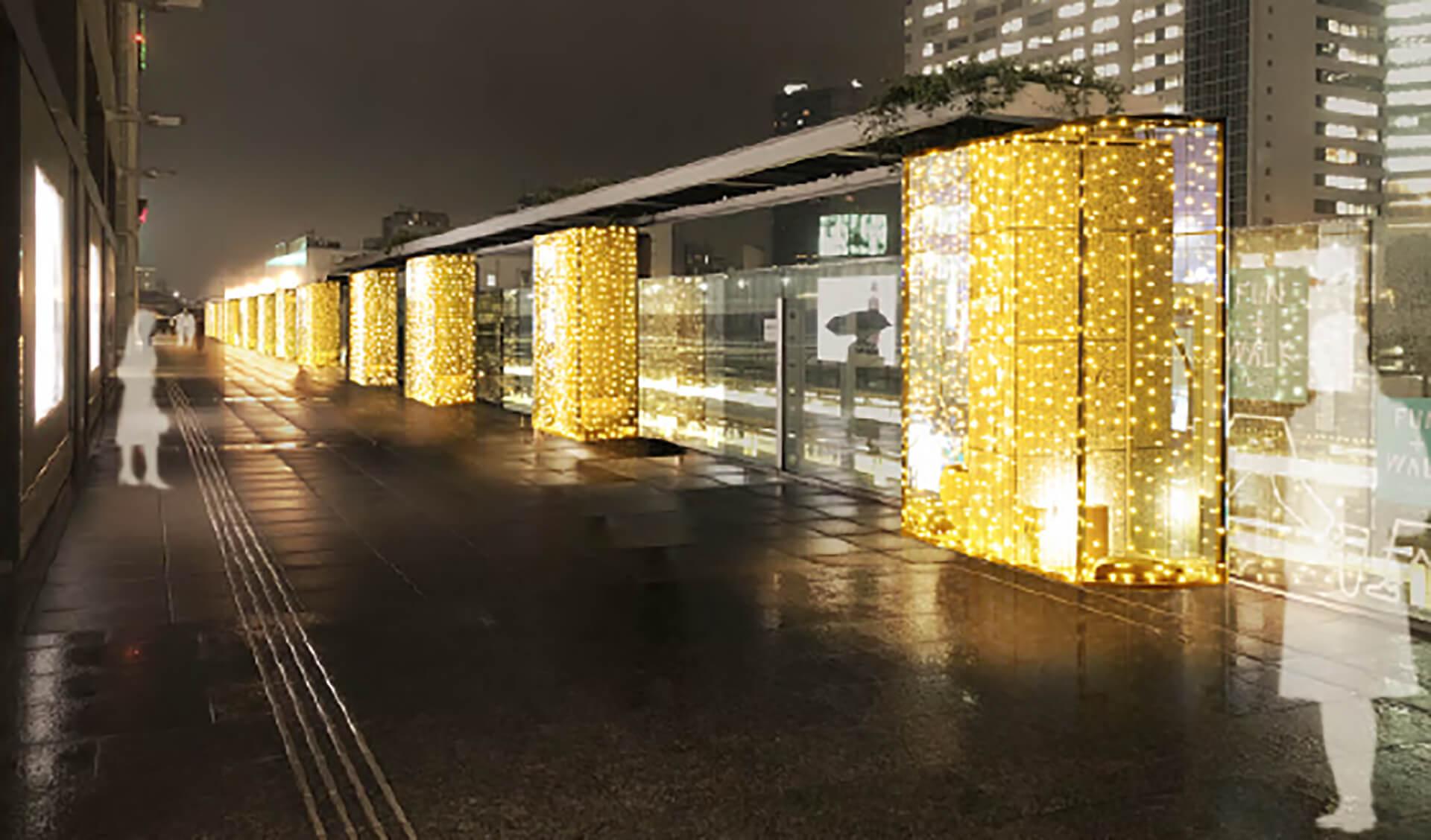 ライトアップ・高島屋タイムズスクエア