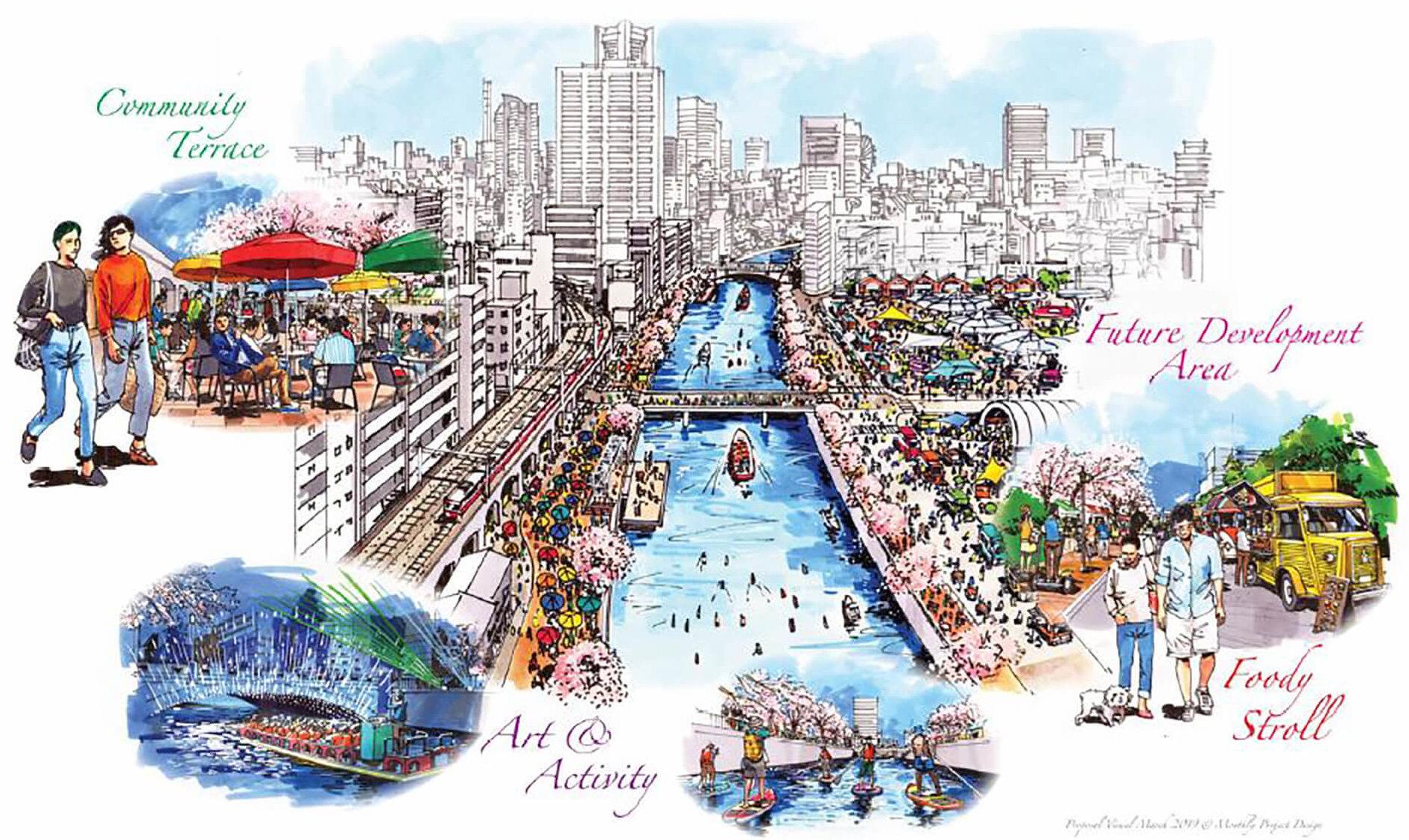 大岡川ひかりの川辺2019メインバナー
