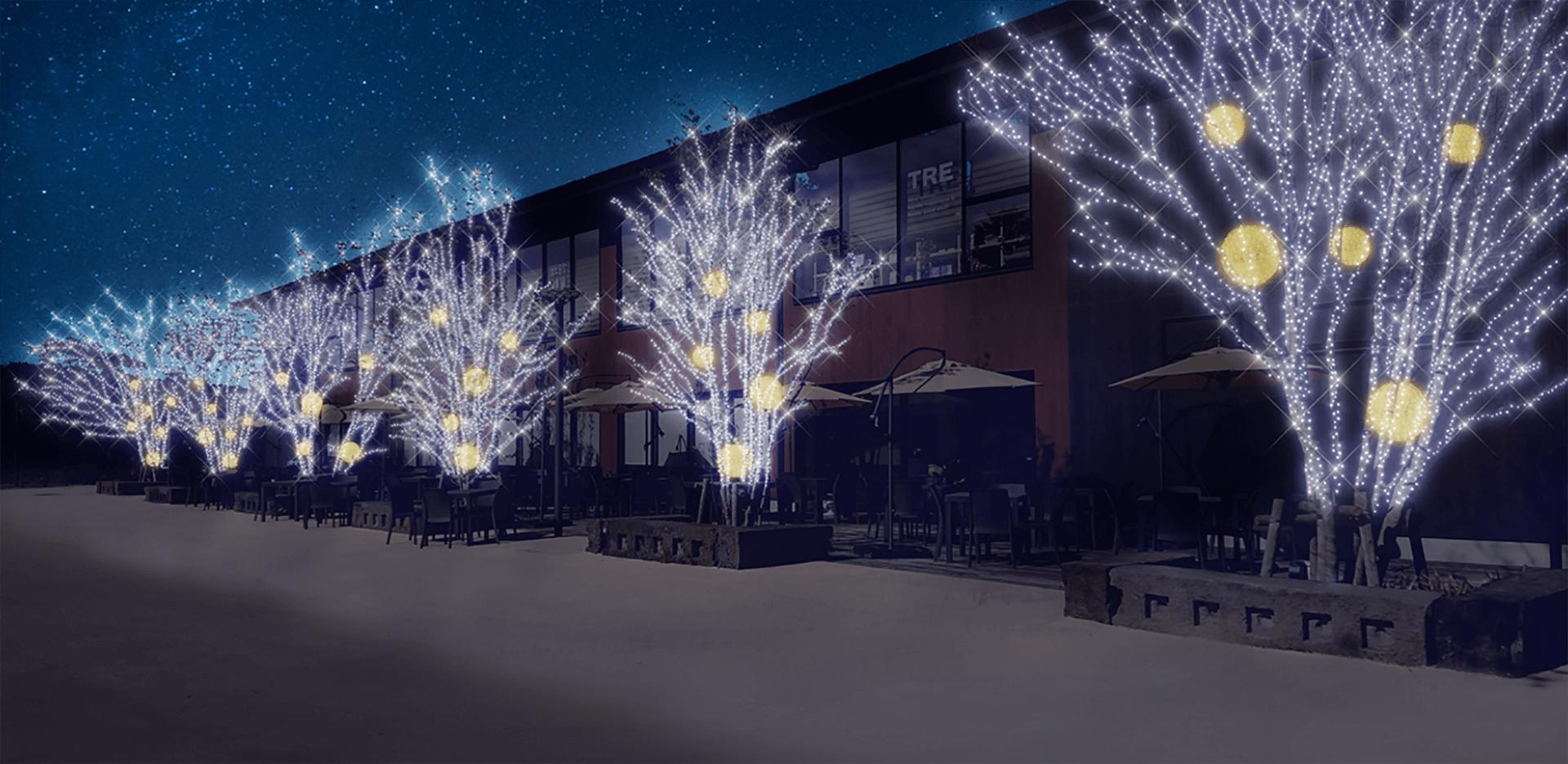 「メッツァビレッジ」のクリスマス ~北欧の森とクリスマスマーケット~