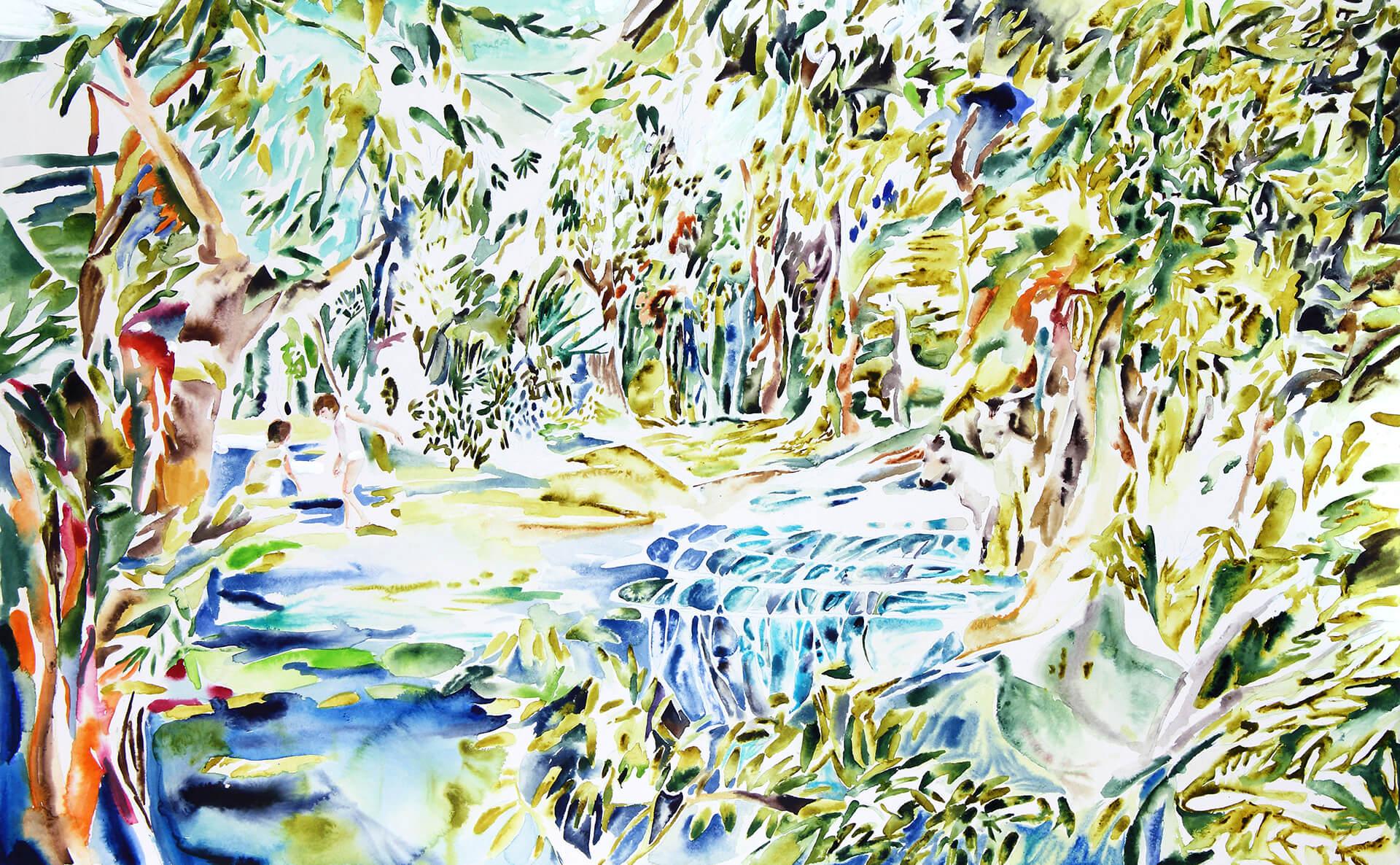 「世界の眠り、水の音」井澤由花子氏