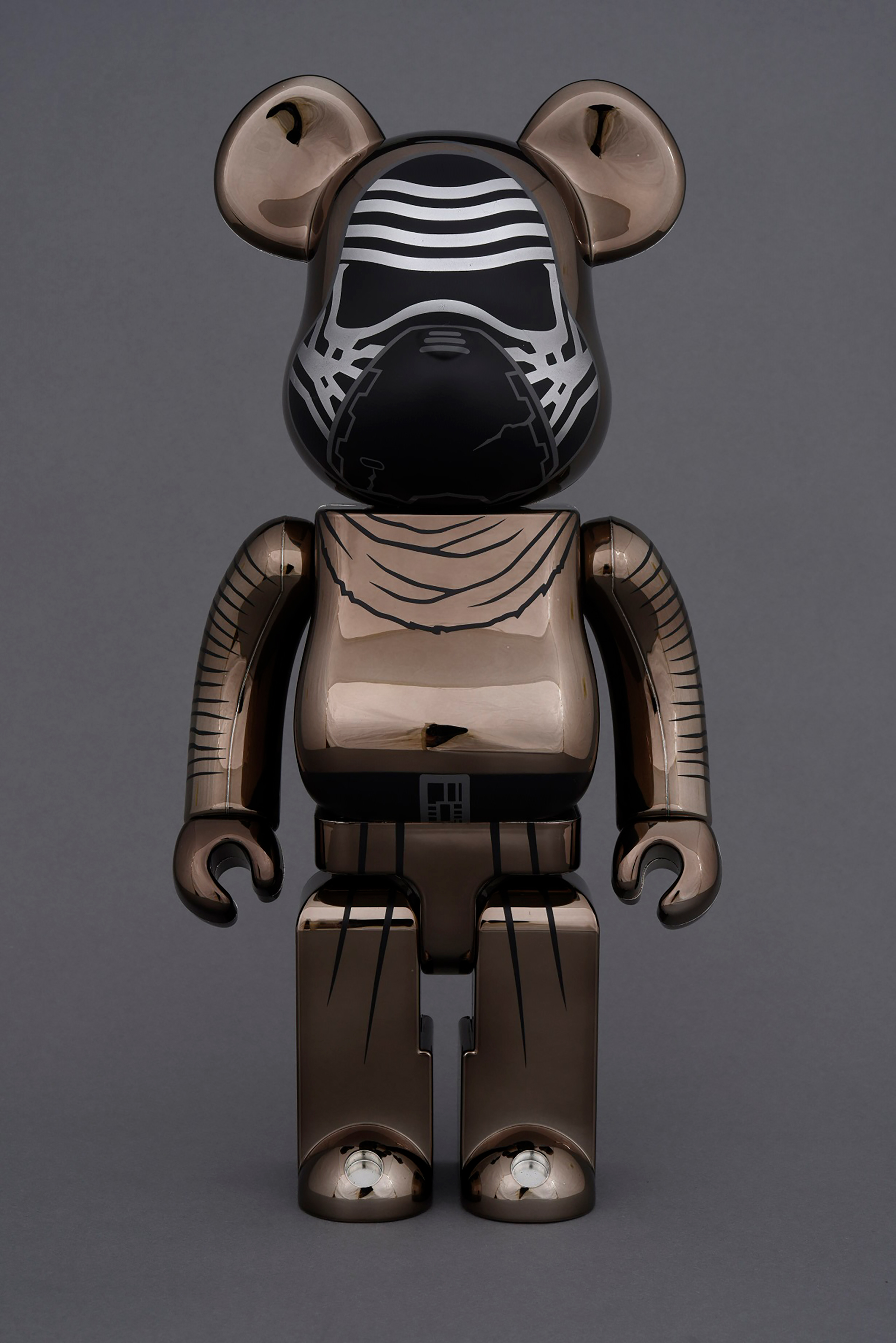 BE@RBRICK KYLO REN 100% & 400% (CHROME Ver.)