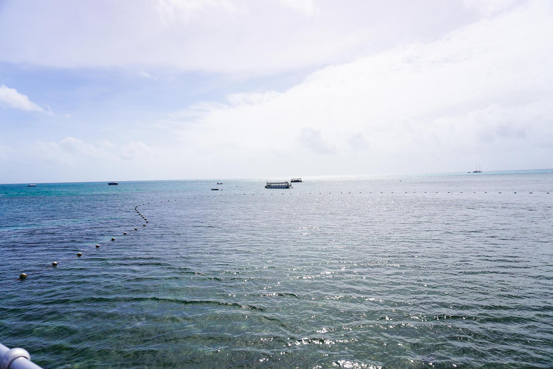ケアンズ・グリーン島からの眺め