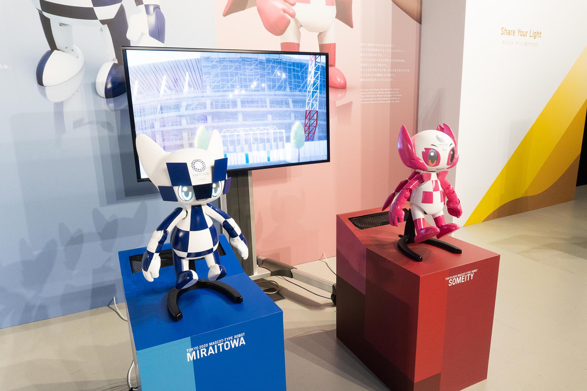 東京モーターショー2019・2020東京オリンピックキャラ