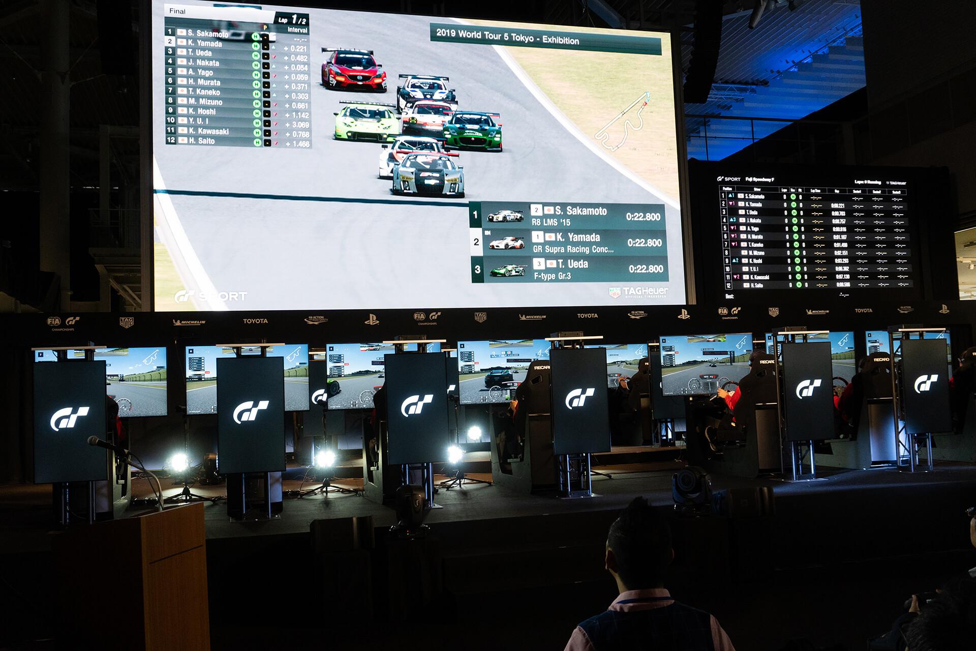 東京モーターショー2019・GTゲーム