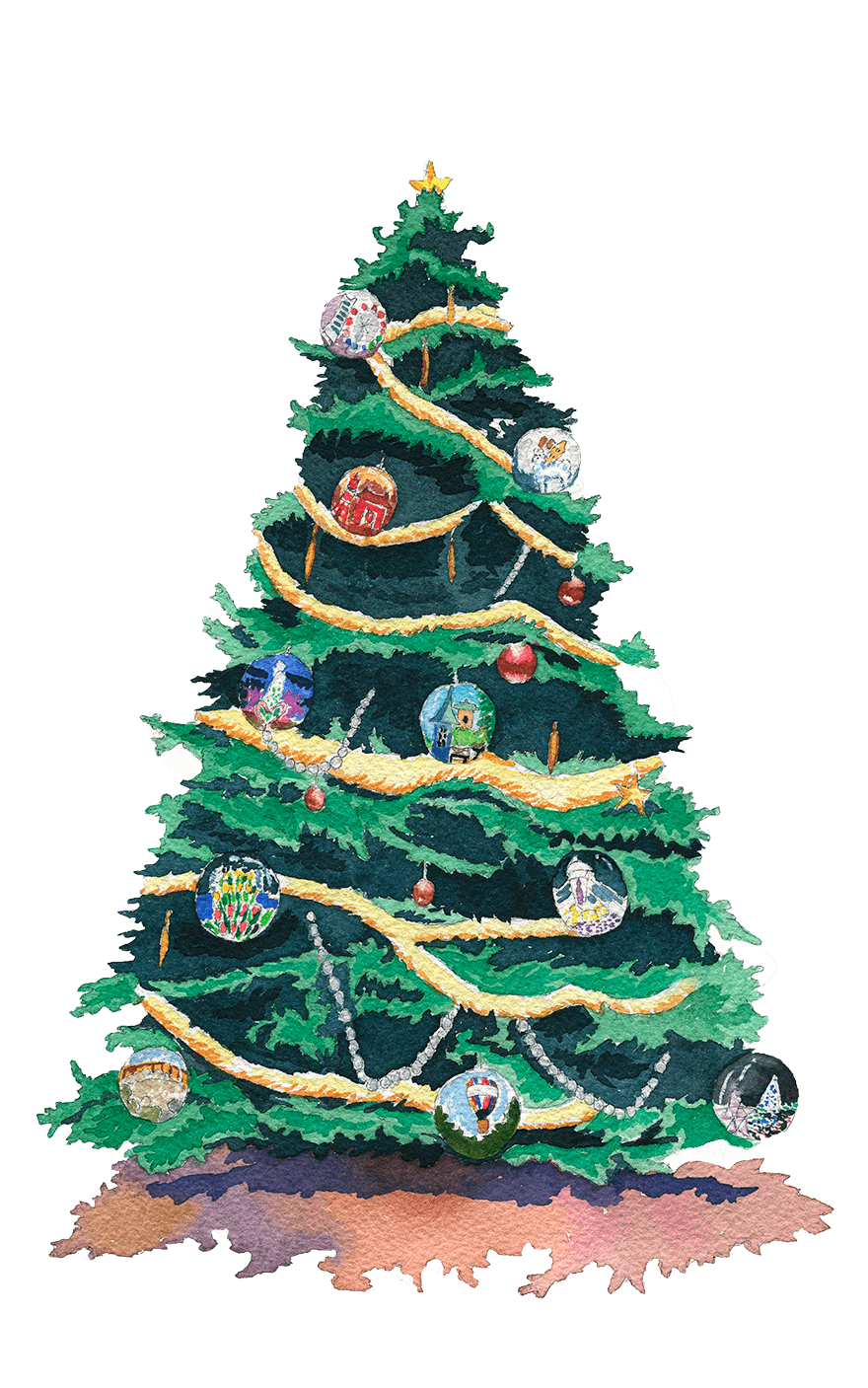 クリスマスのイメージイラスト