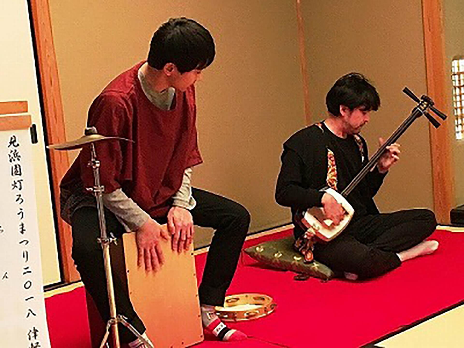 津軽三味線 × カホン ライブ