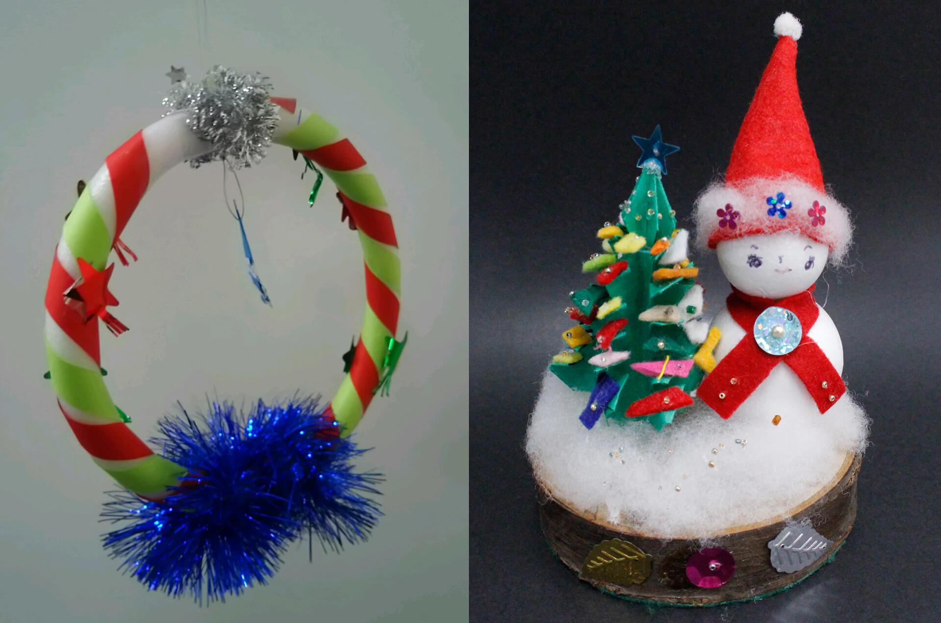 みんなでつくるあったかクリスマス・製作物