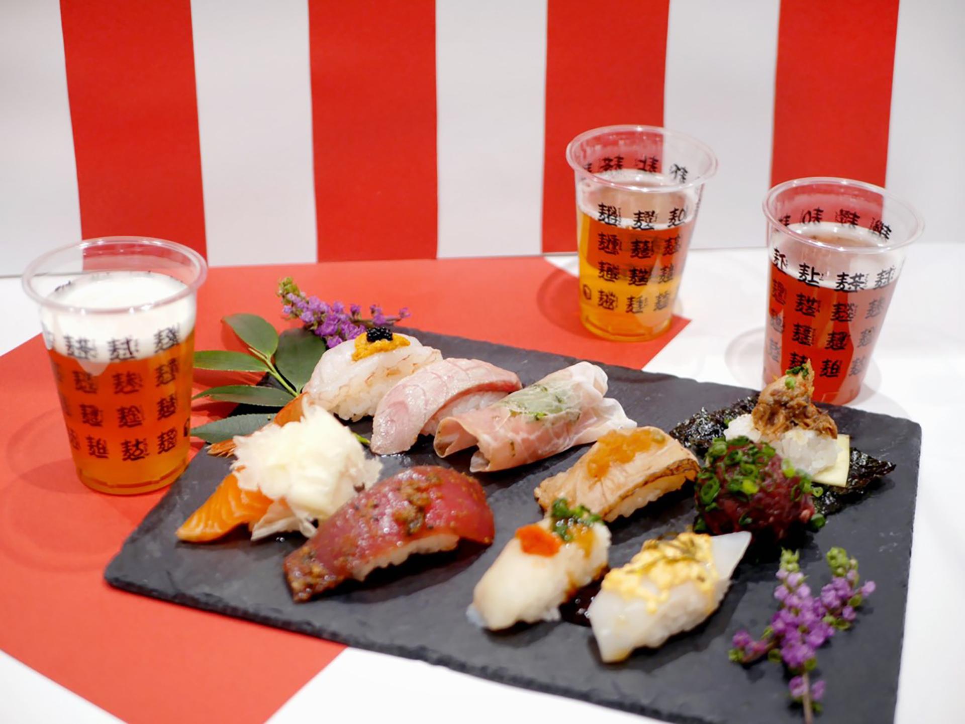 寿司×クラフトビールフェス・イメージ写真