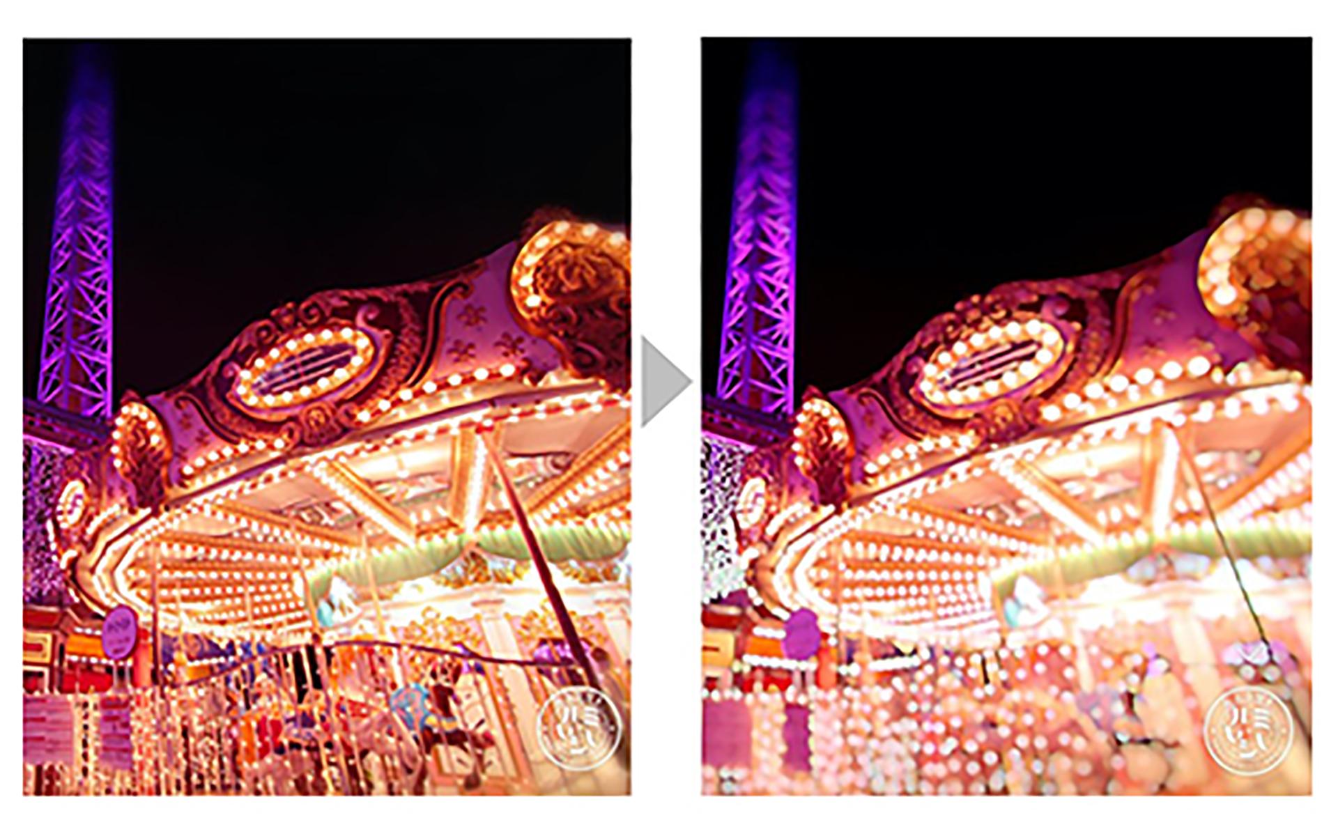 カメラアプリ『moru』限定フィルター