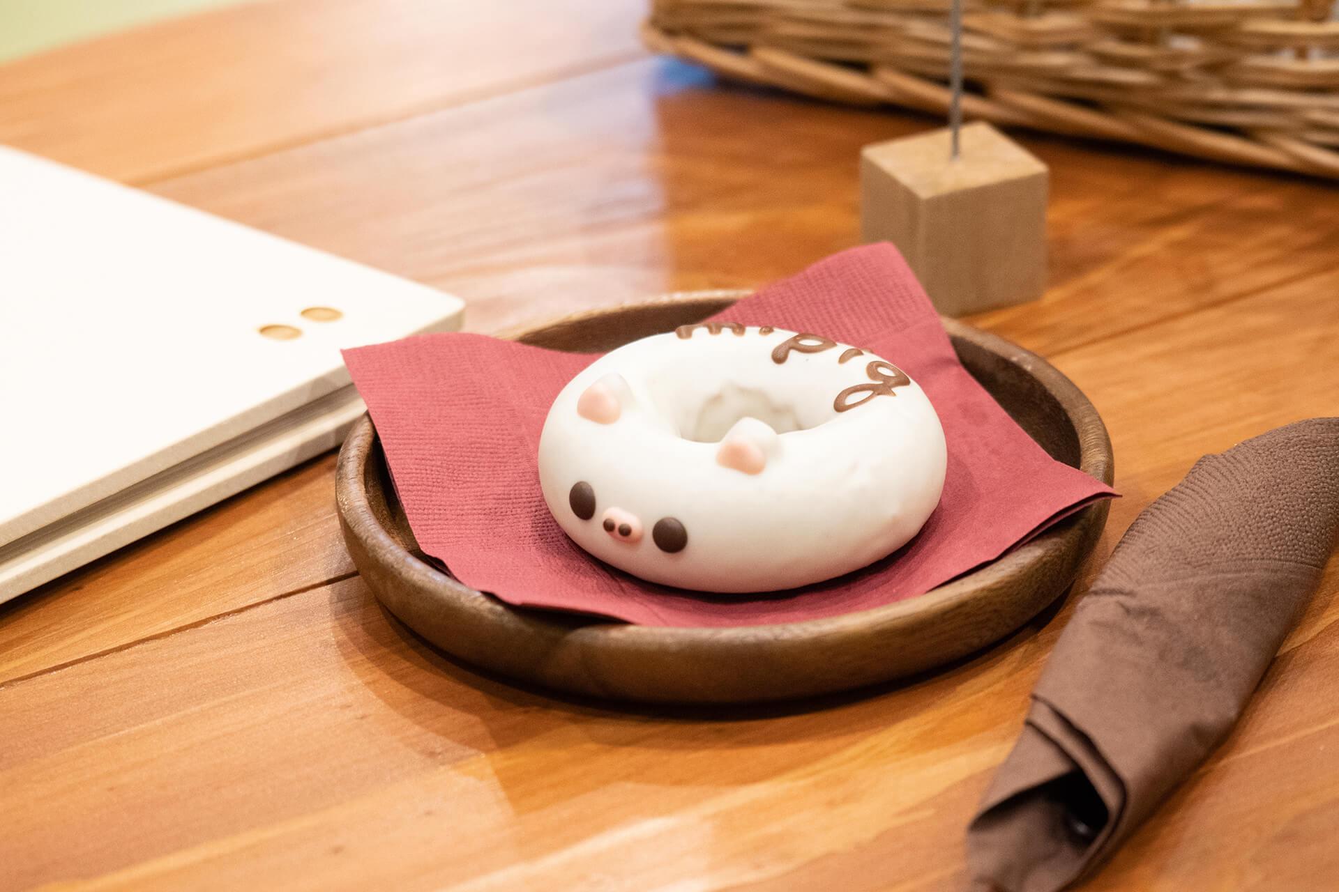 mipigcafe原宿店・ドーナツ