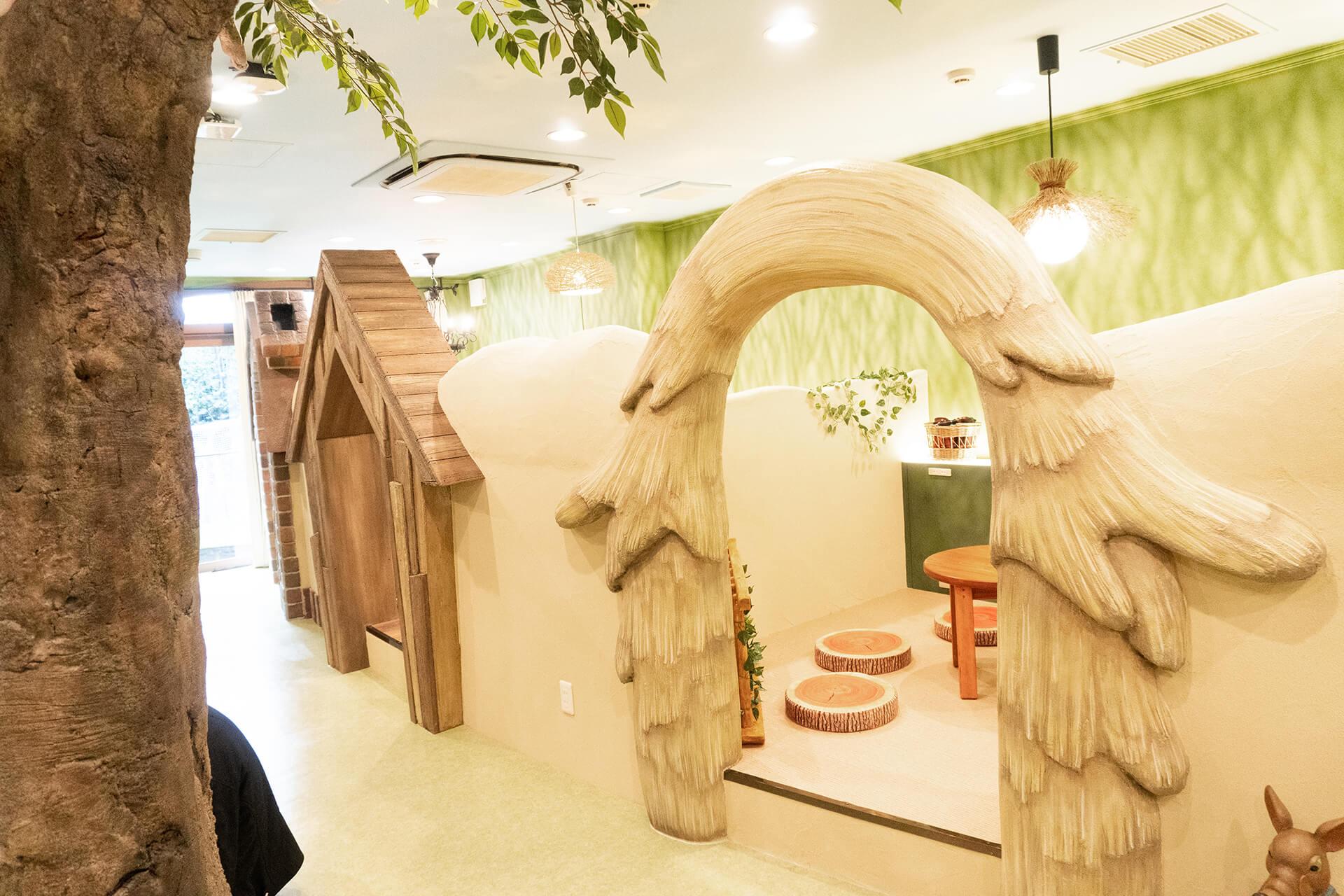 mipigcafe原宿店・個室