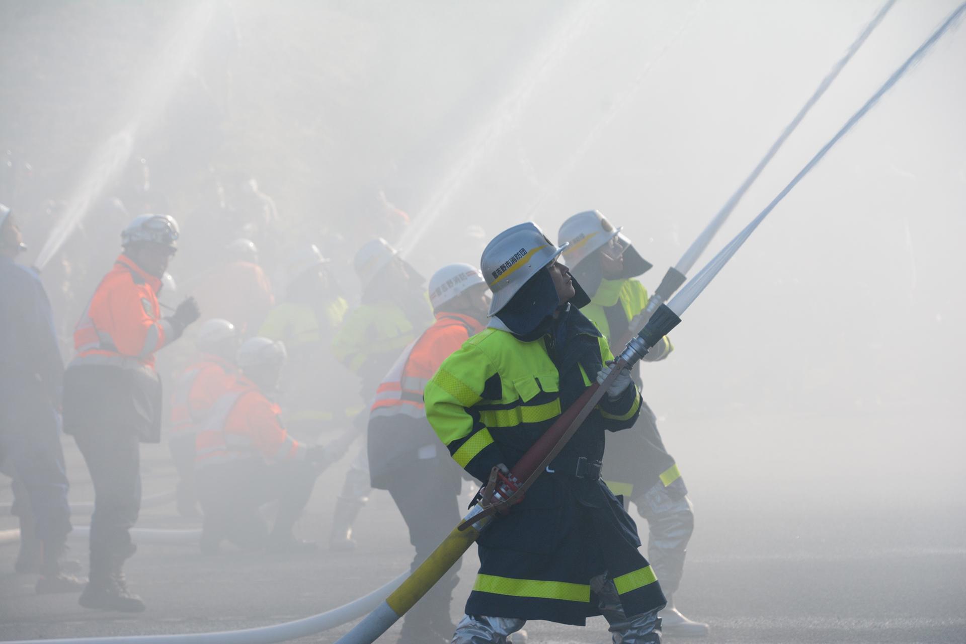 習志野市消防出初式