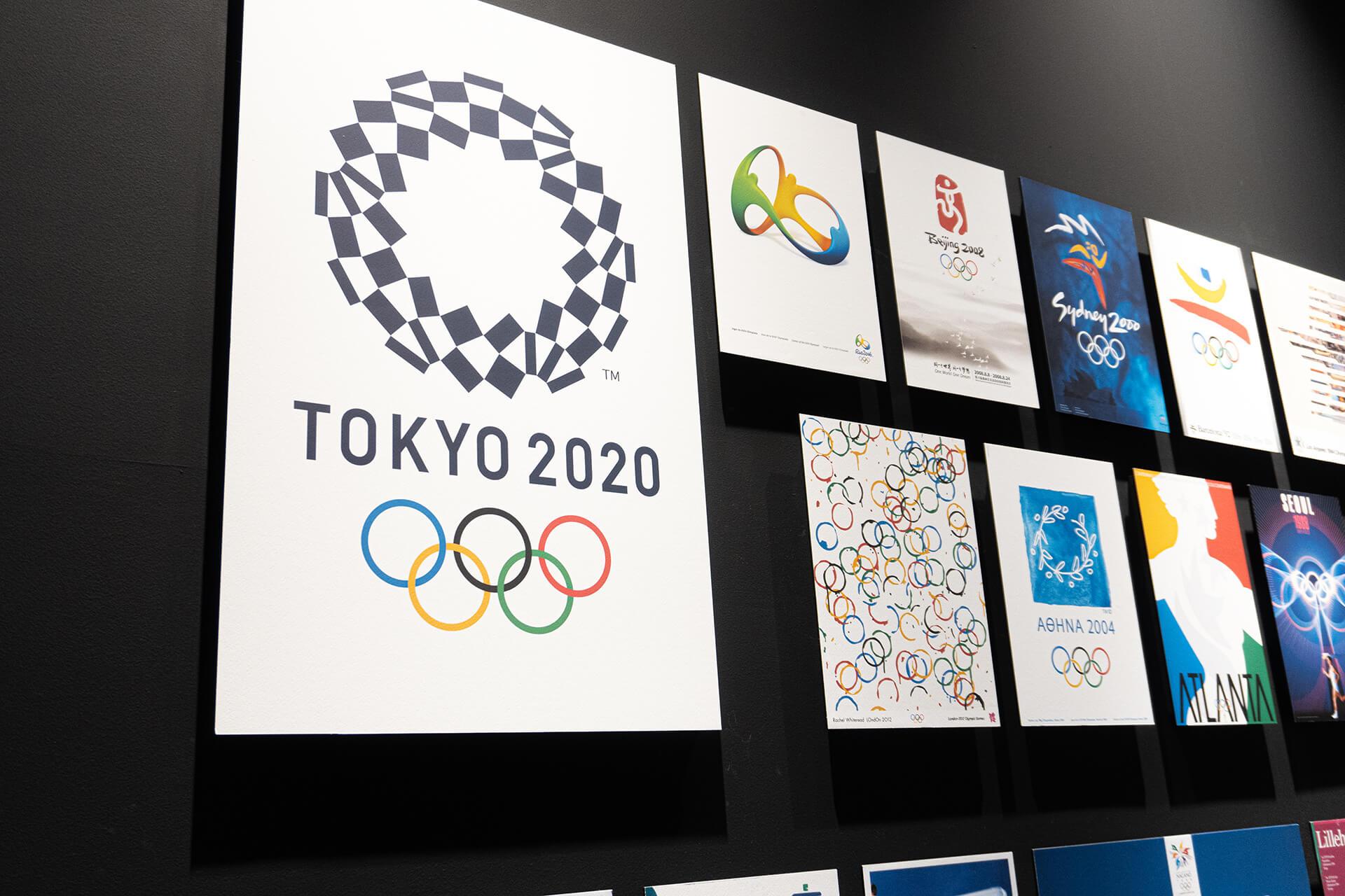 日本オリンピックミュージアムポスター