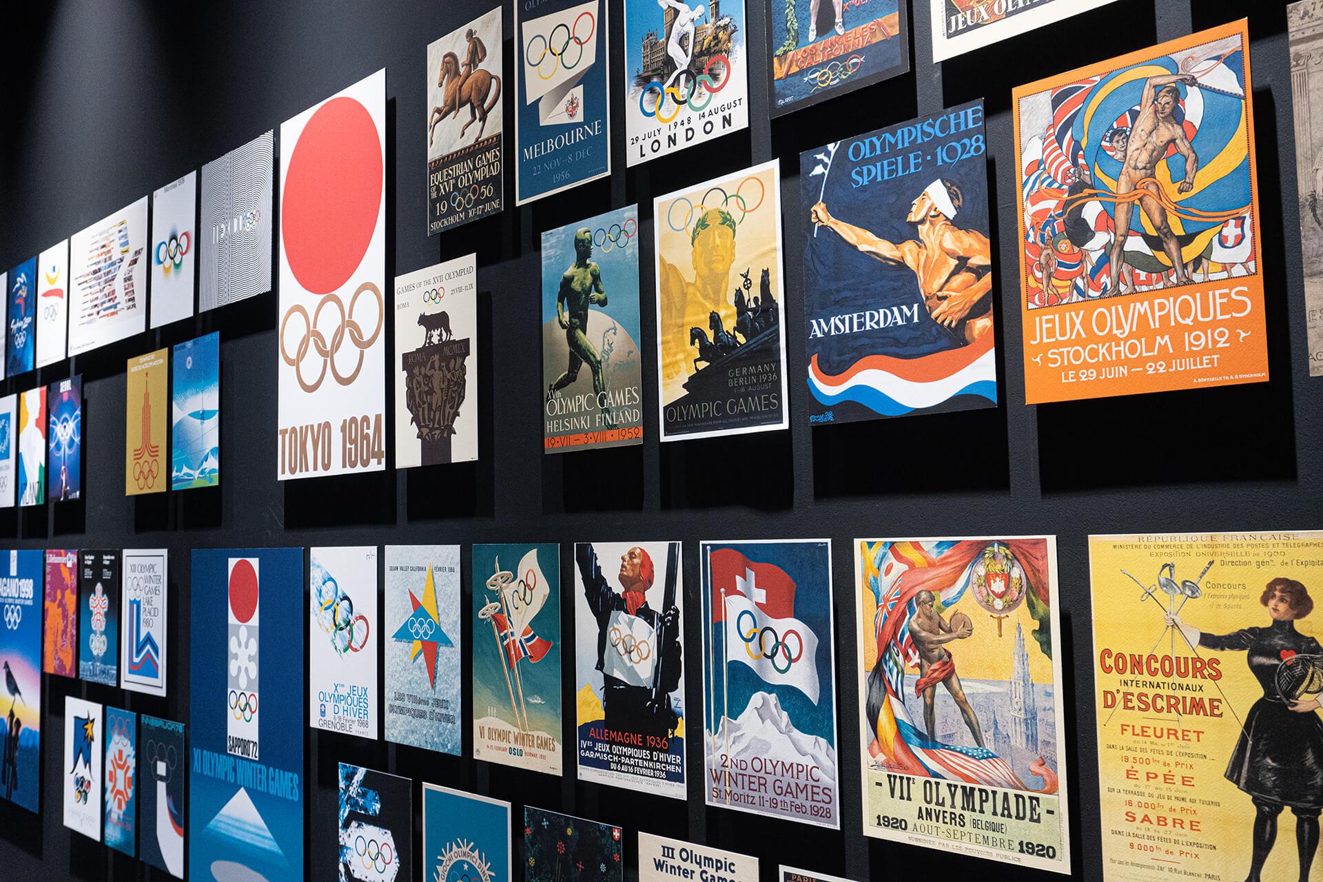 日本オリンピックミュージアム・ポスター